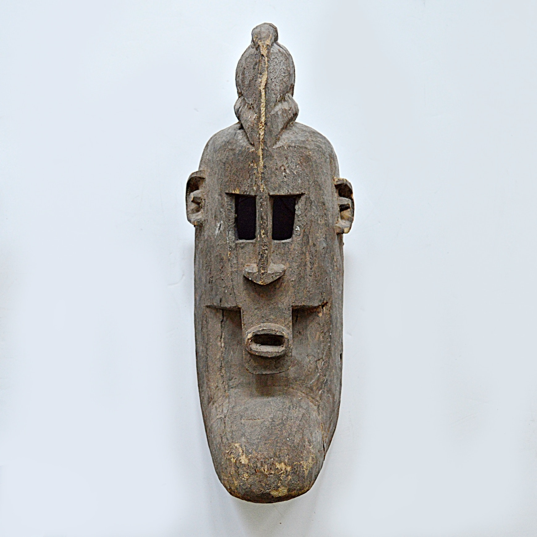 Mid 20th Century Dogon African Carved Wooden Mask