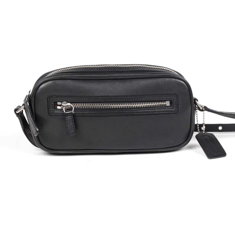 Coach Legacy Black Leather Crossbody Bag