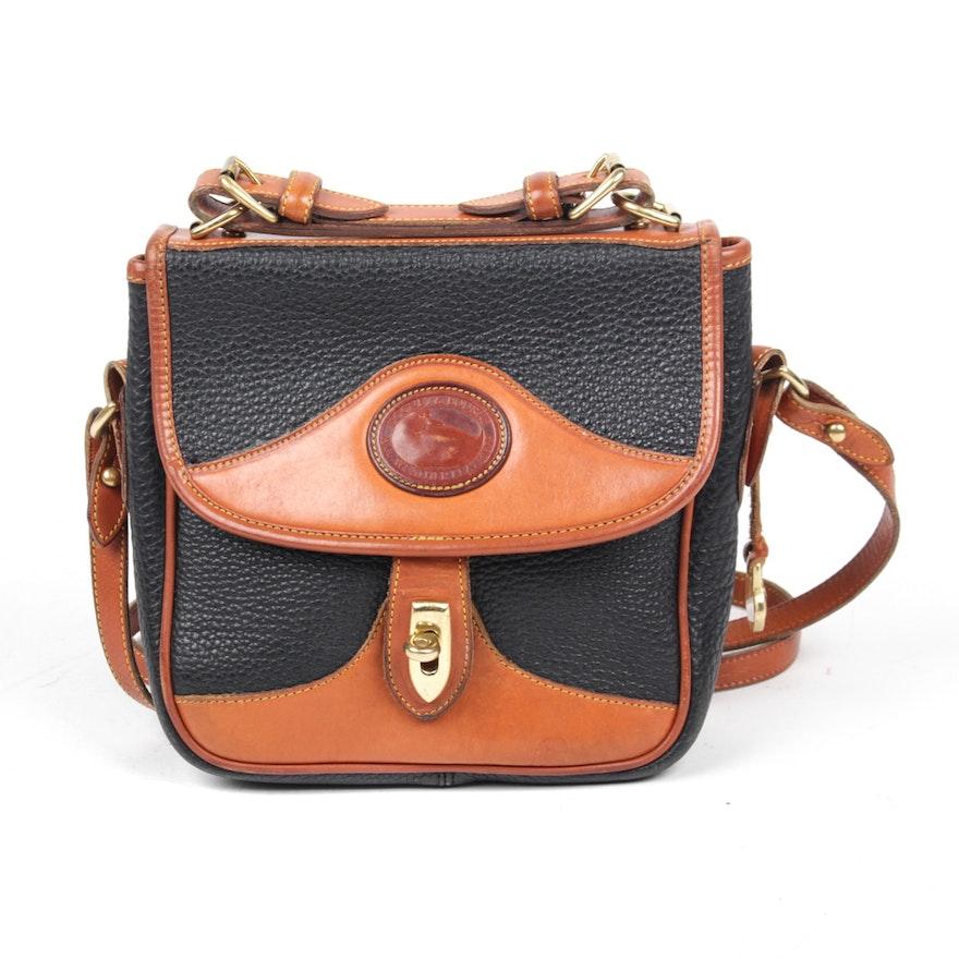 a73026b0c Vintage Dooney & Bourke Carrier Crossbody Handbag : EBTH