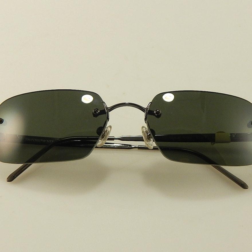 2b34412fa321 Emporio Armani Sunglasses   EBTH