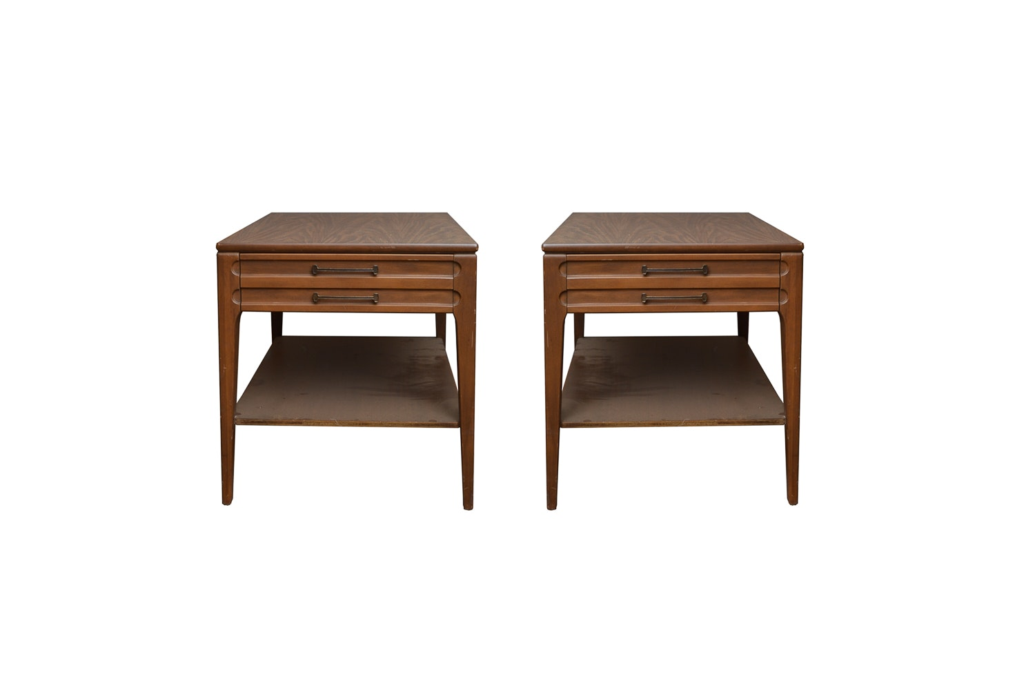 Pair of Mid Century Modern Side Tables by Mersman