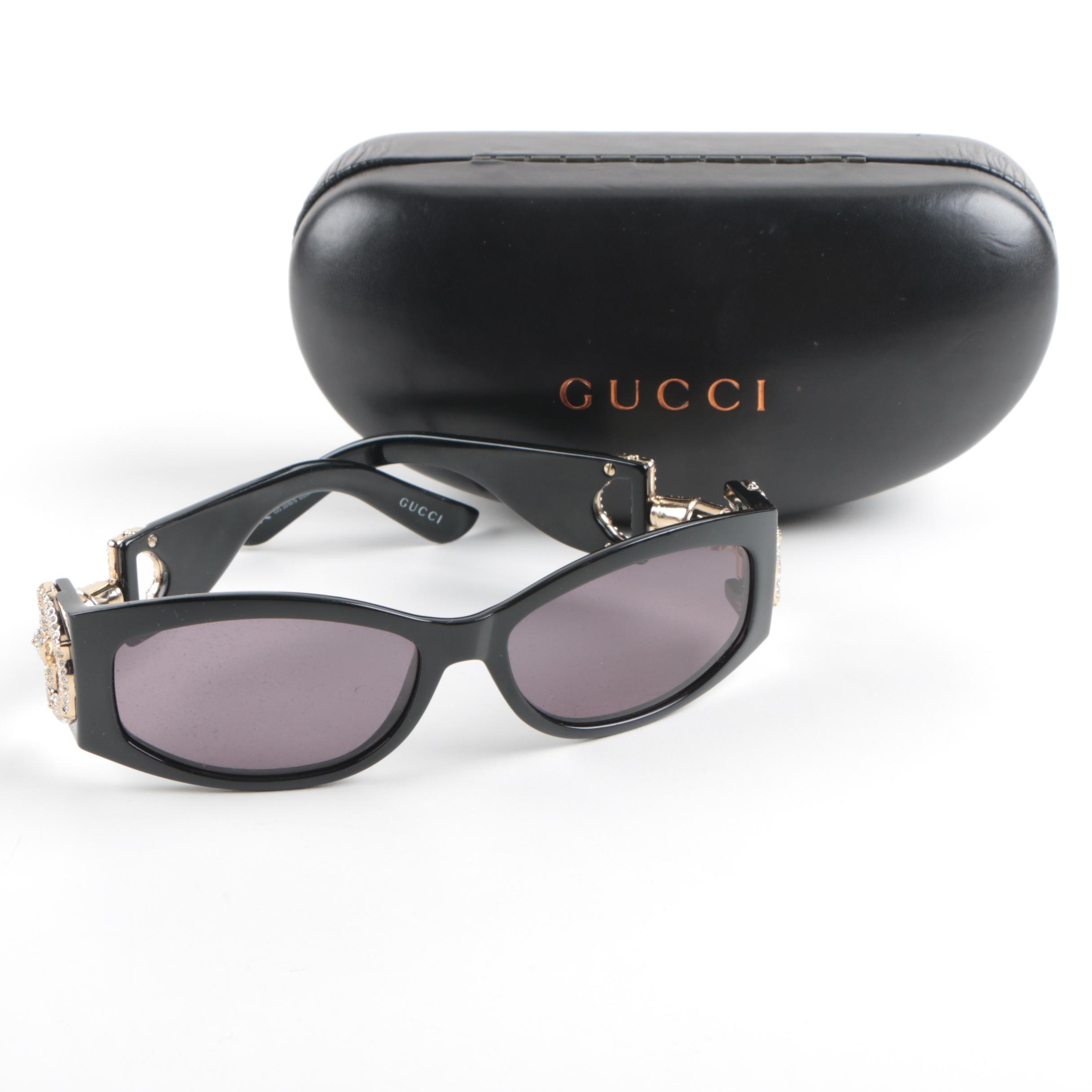 Women's Gucci Sunglasses with Case