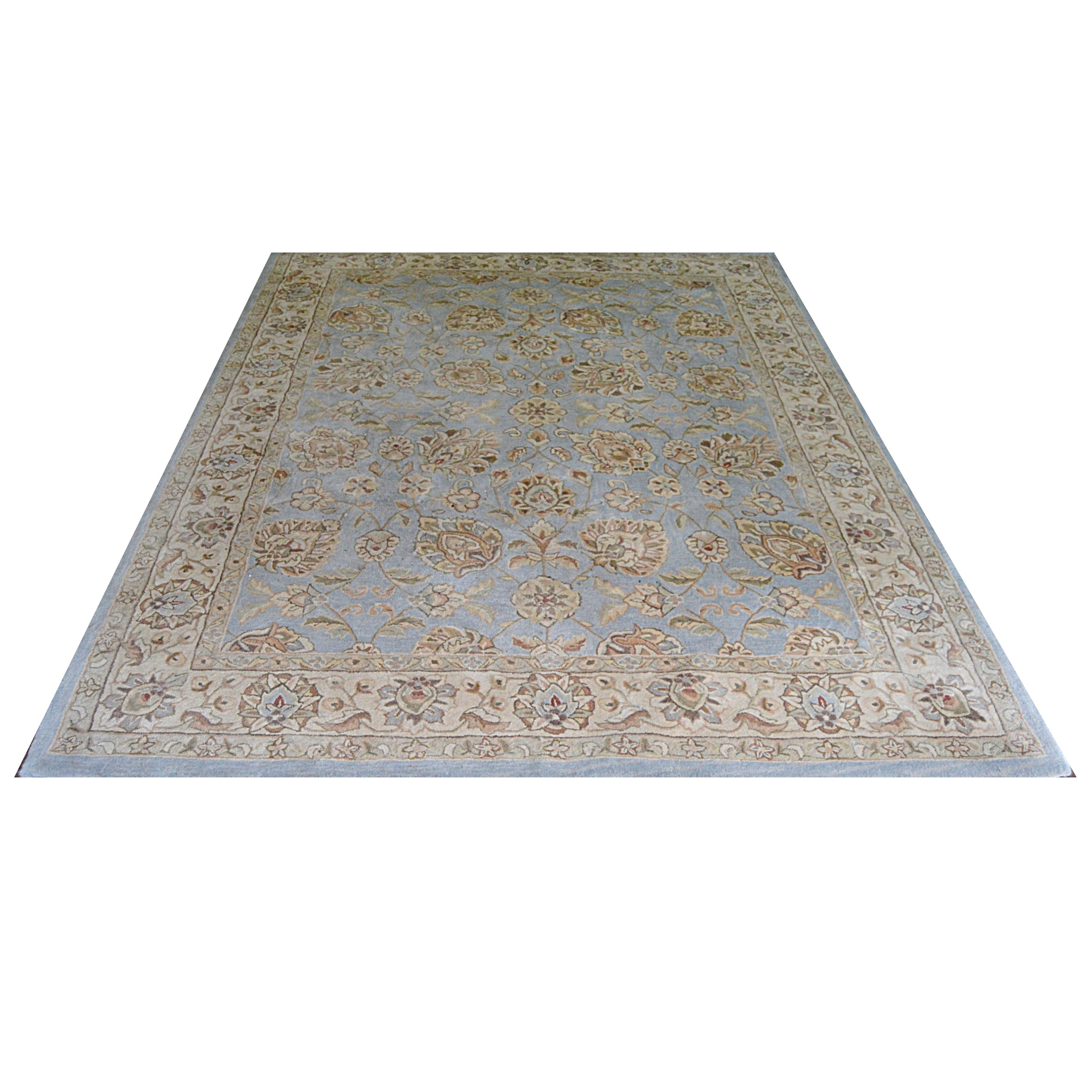 """Contemporary Chinese """"Xanadu"""" Tufted Wool Area Rug"""