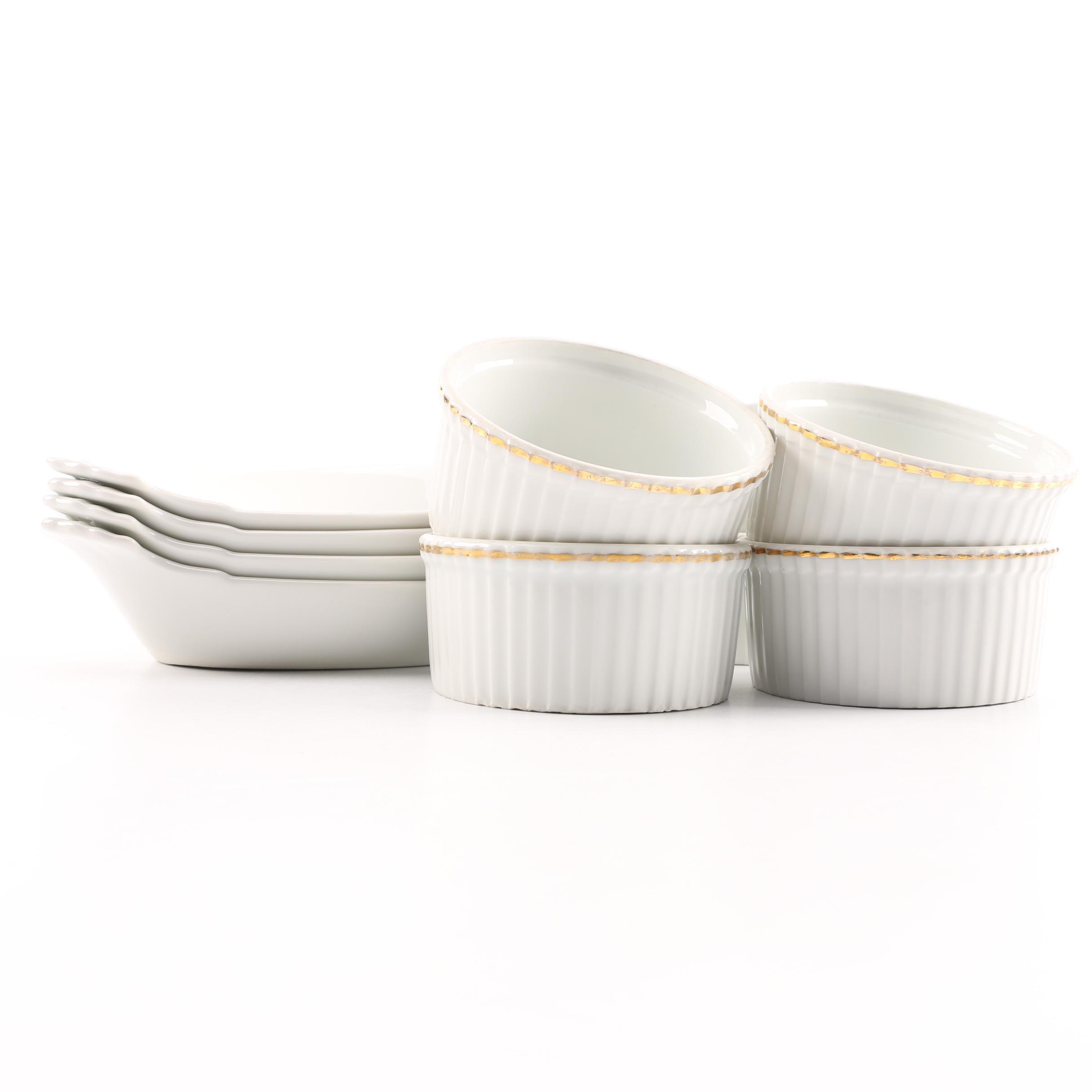 Apilco Porcelain Ramekins and Au Gratin Dishes ...  sc 1 st  EBTH.com & Apilco Porcelain Ramekins and Au Gratin Dishes : EBTH