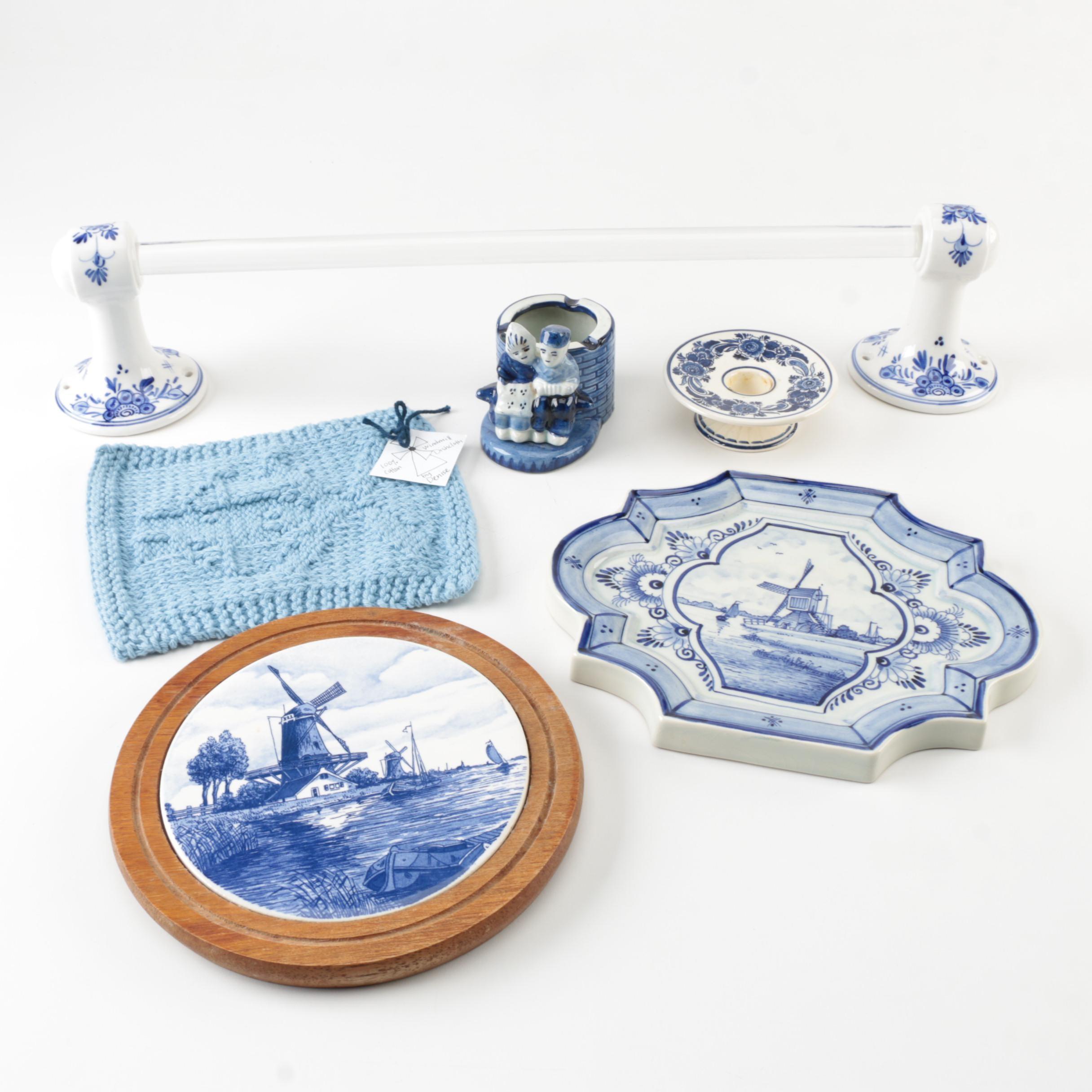 Delft Porcelain Pottery