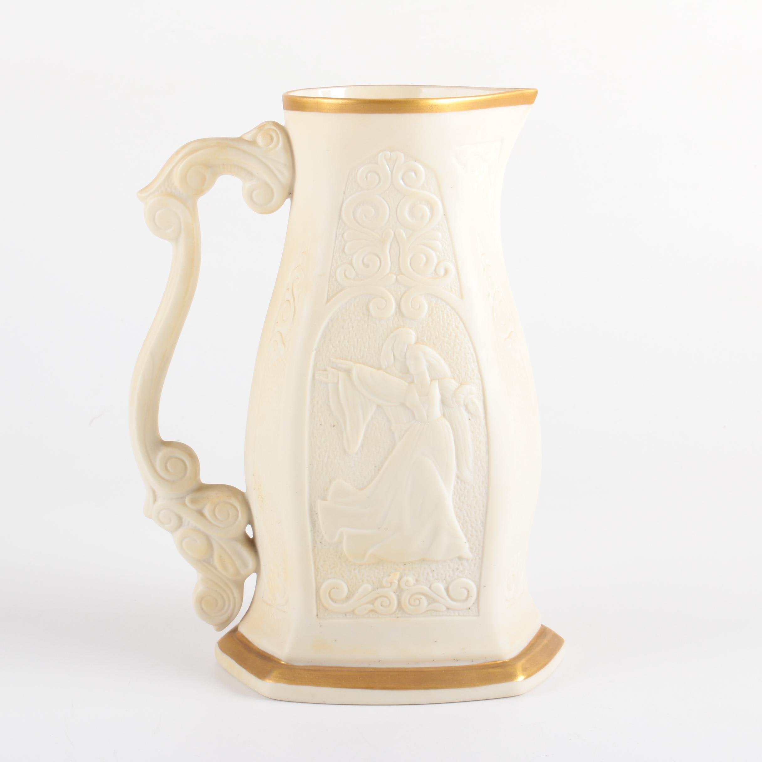 "Limited Edition Lenox ""Romeo and Juliet"" Pitcher"