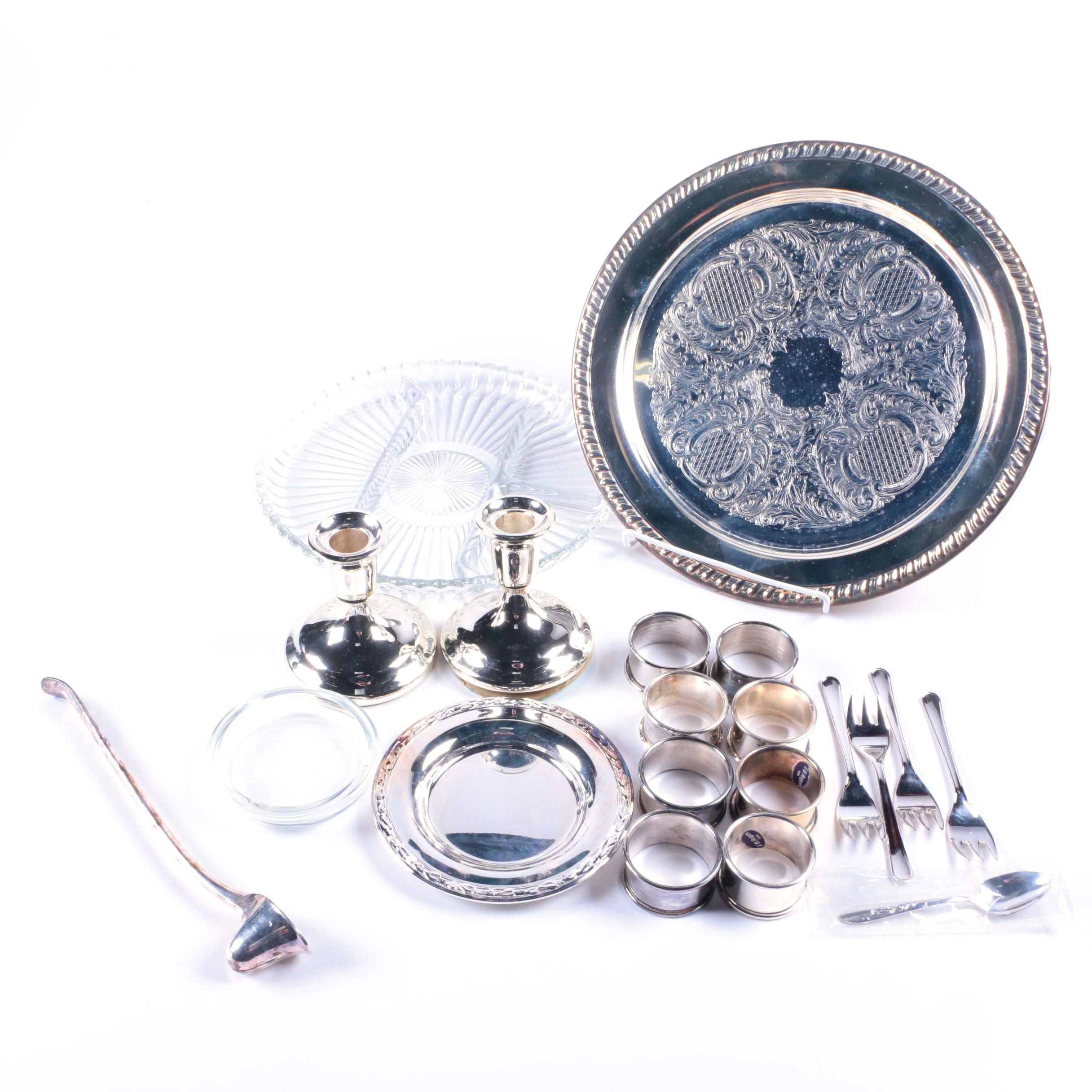Silver Plate Tableware Including F.B. Rogers and More