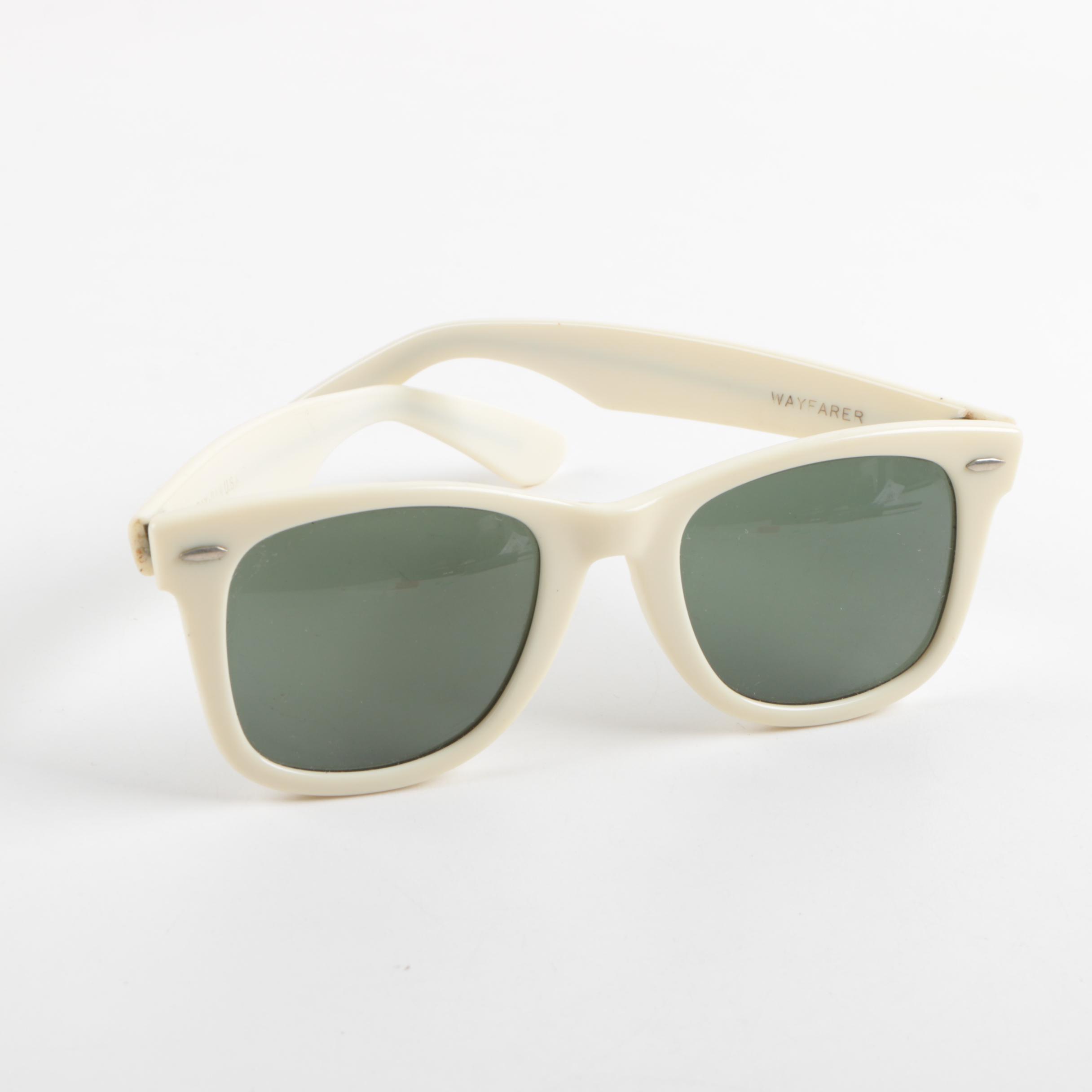 Vintage B & L Ray-Ban Wayfarer Sunglasses