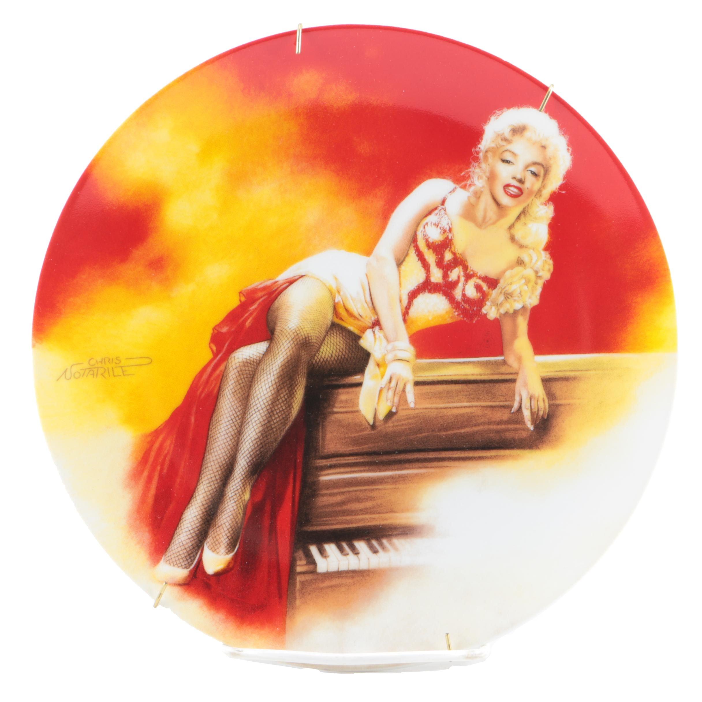 "Delphi Marilyn Monroe ""River of No Return"" Collector Plate"