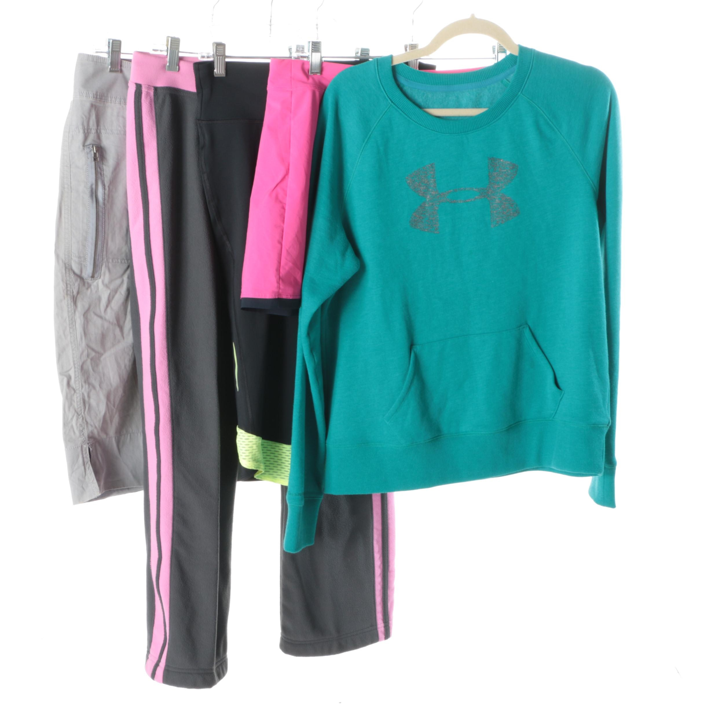 Women's Athletic Separates Including The North Face