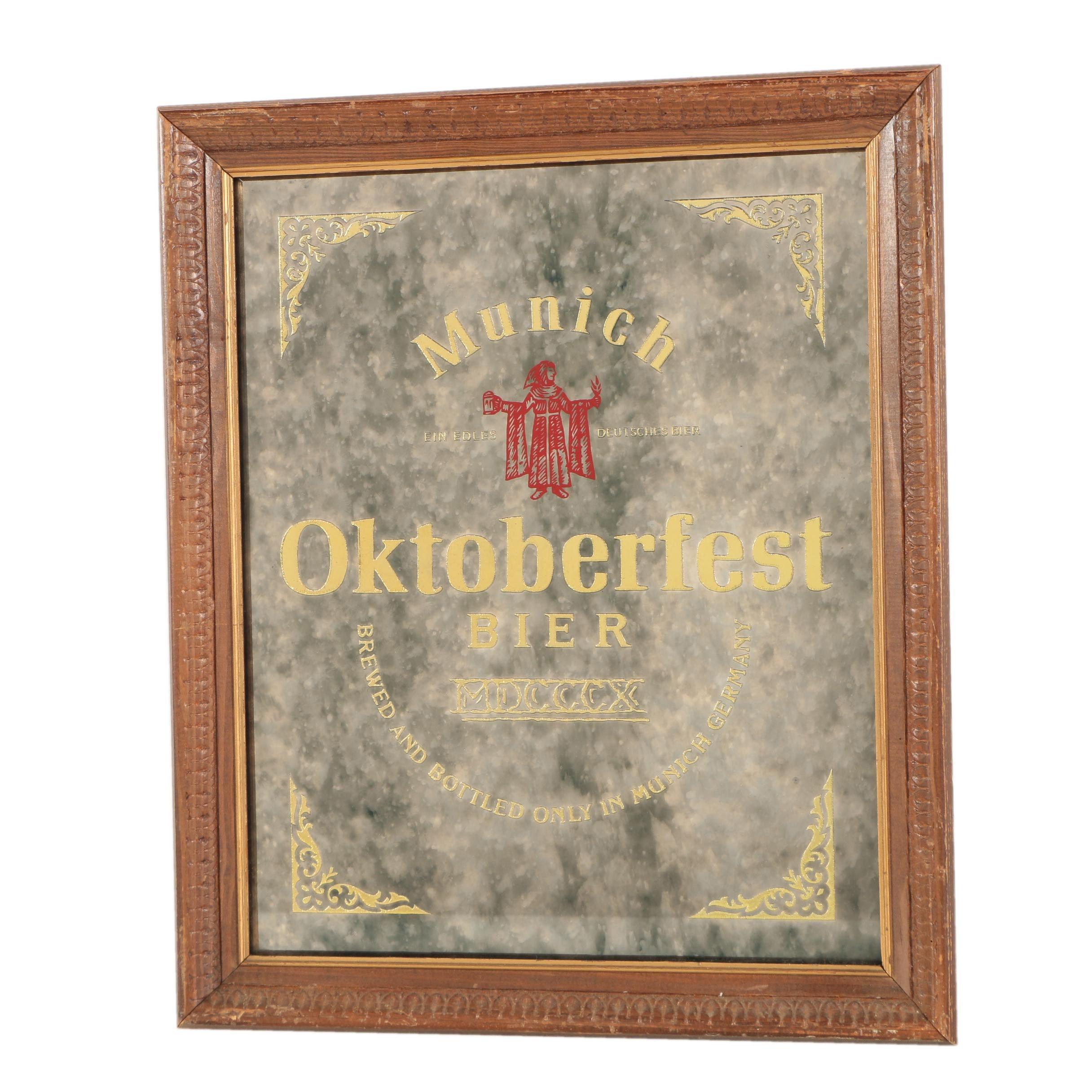 Munich Oktoberfest Bier Mirror