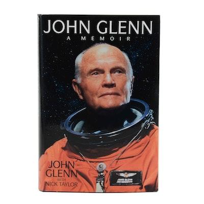 """John Glenn Signed """"John Glenn: a Memoir"""""""