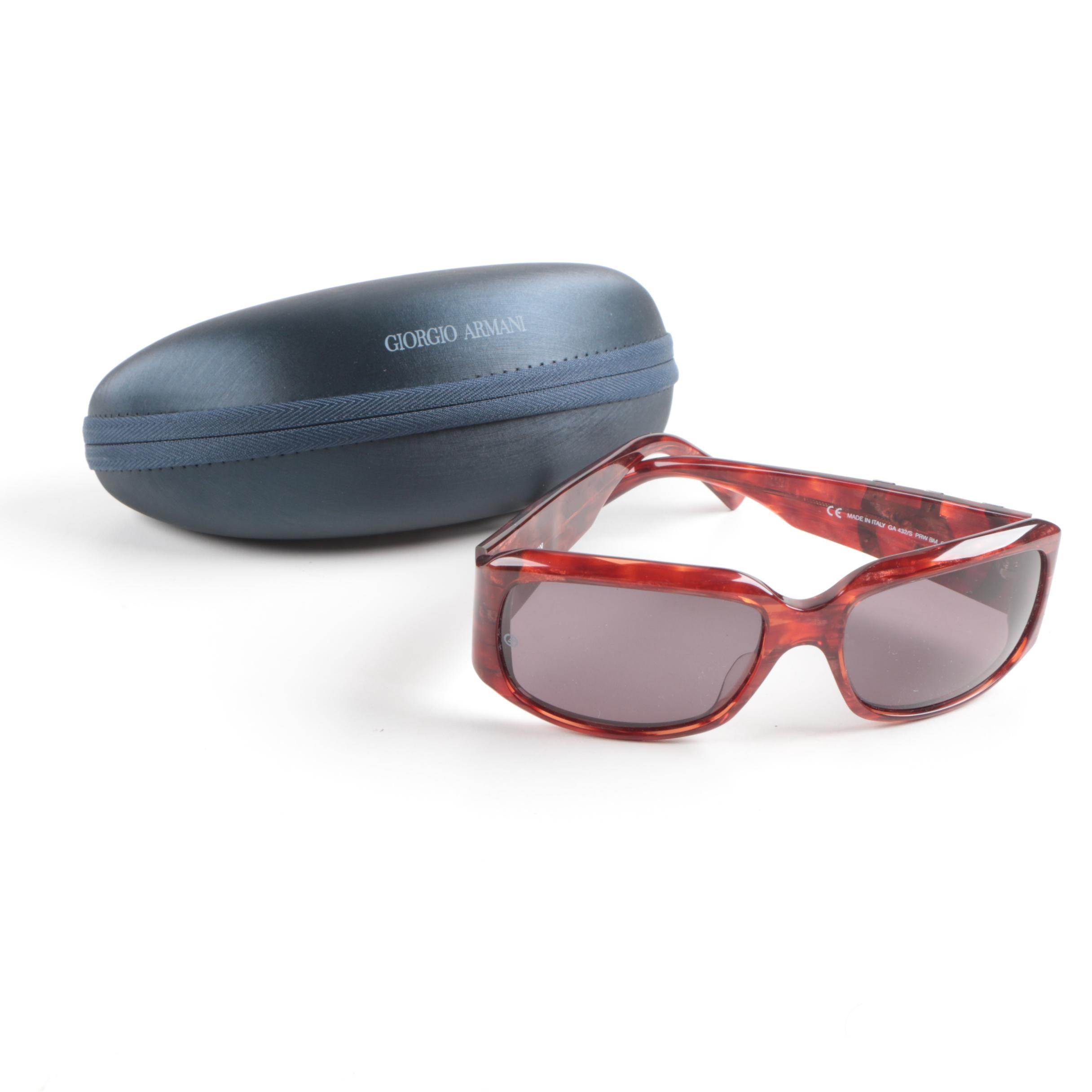 Women's Giorgio Armani 432/S Sunglasses with Case