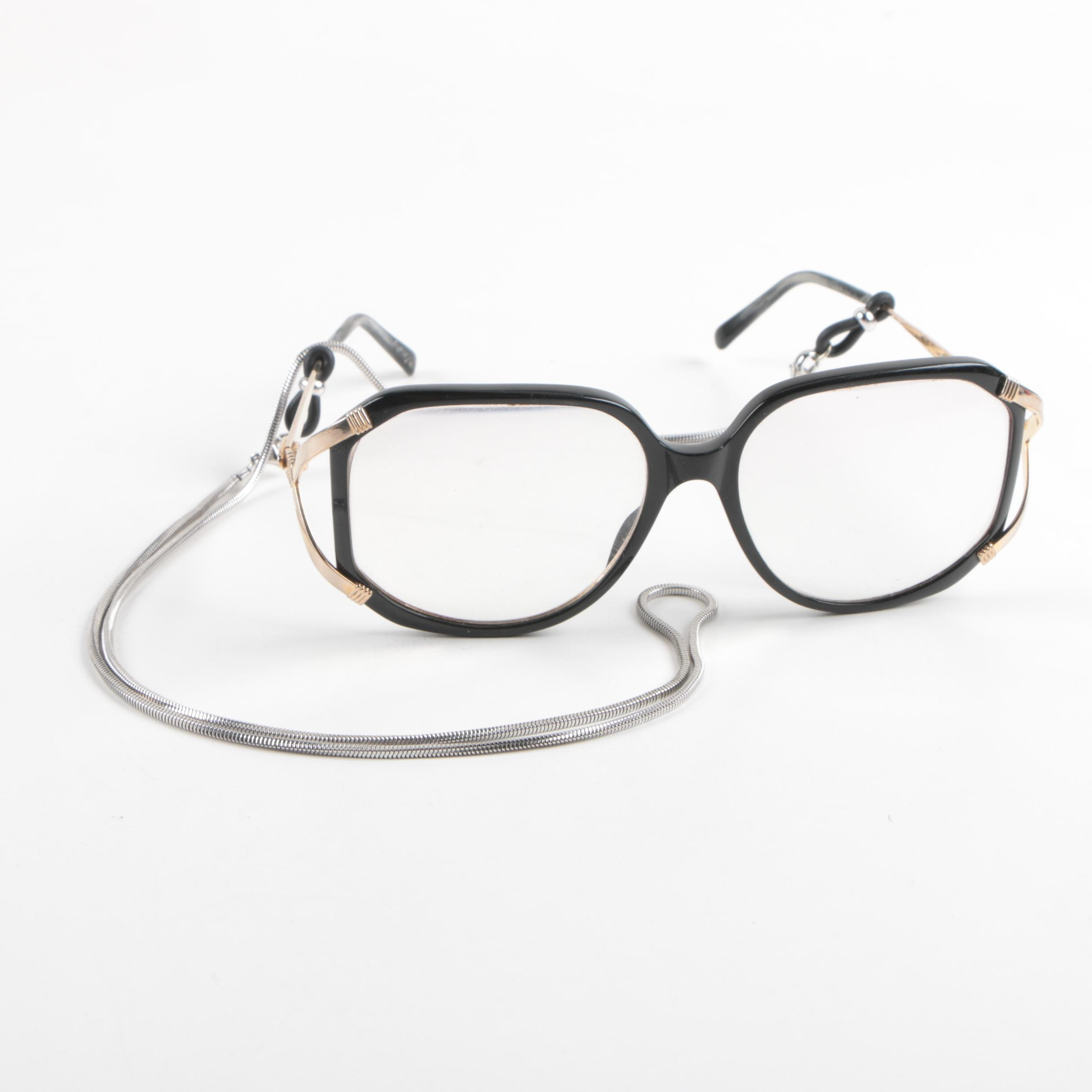 Vintage Christian Dior 2690 Prescription Eyeglasses