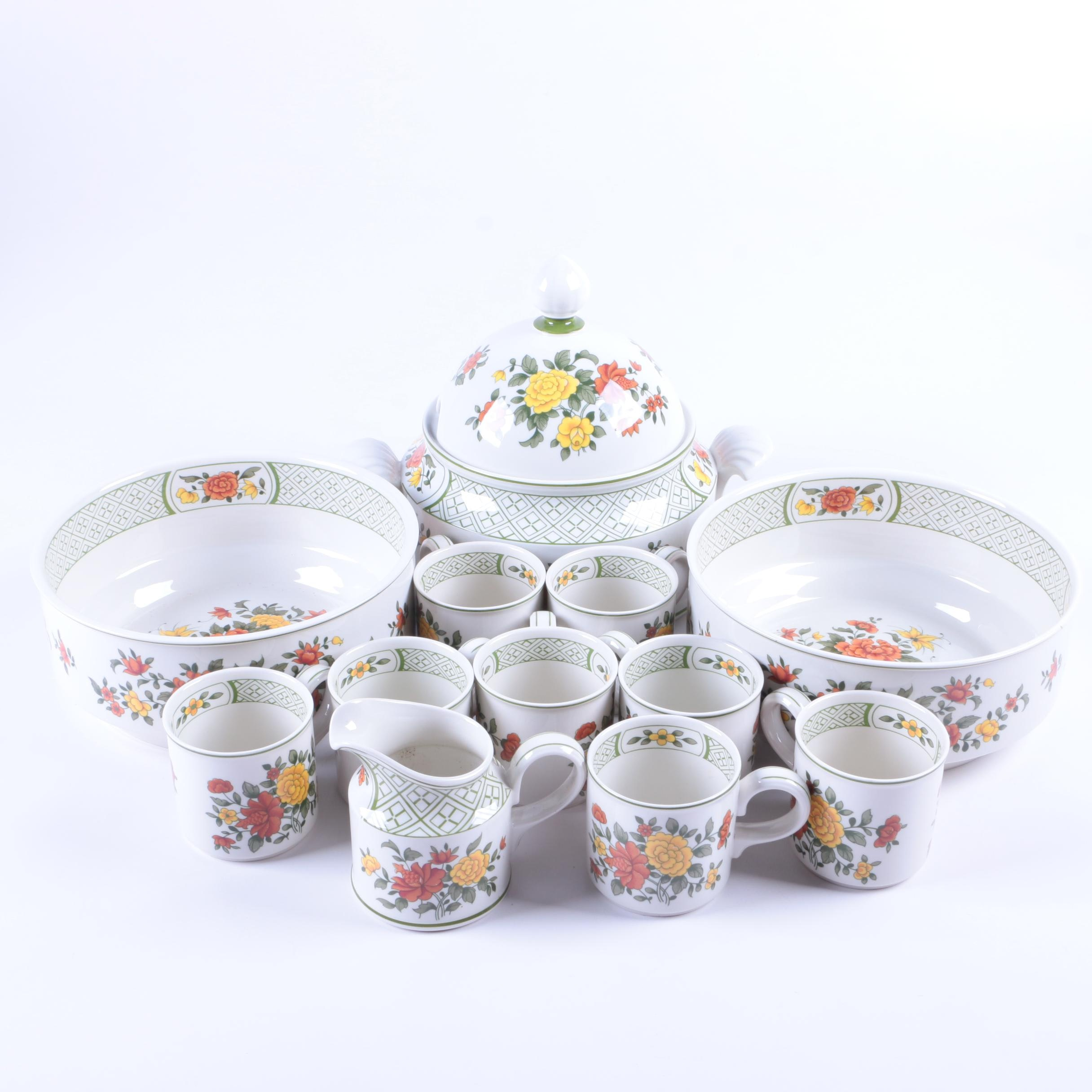 "Villeroy & Boch ""Summerday"" Vitro-porcelain Tableware"