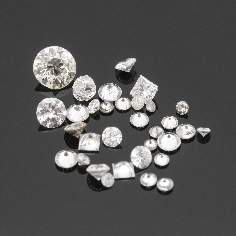 Loose 1.54 CTW Diamonds