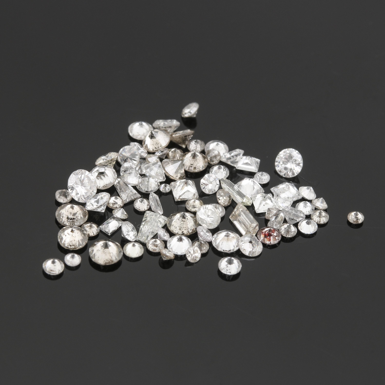 Loose 2.46 CTW Diamond Stones