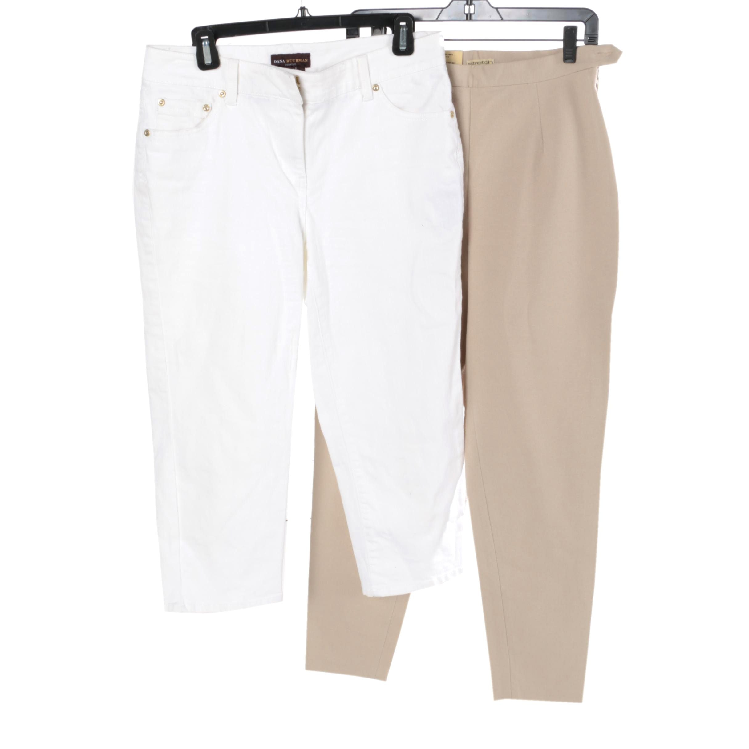 Woman's Dana Buchman and Gap Stretch Pants