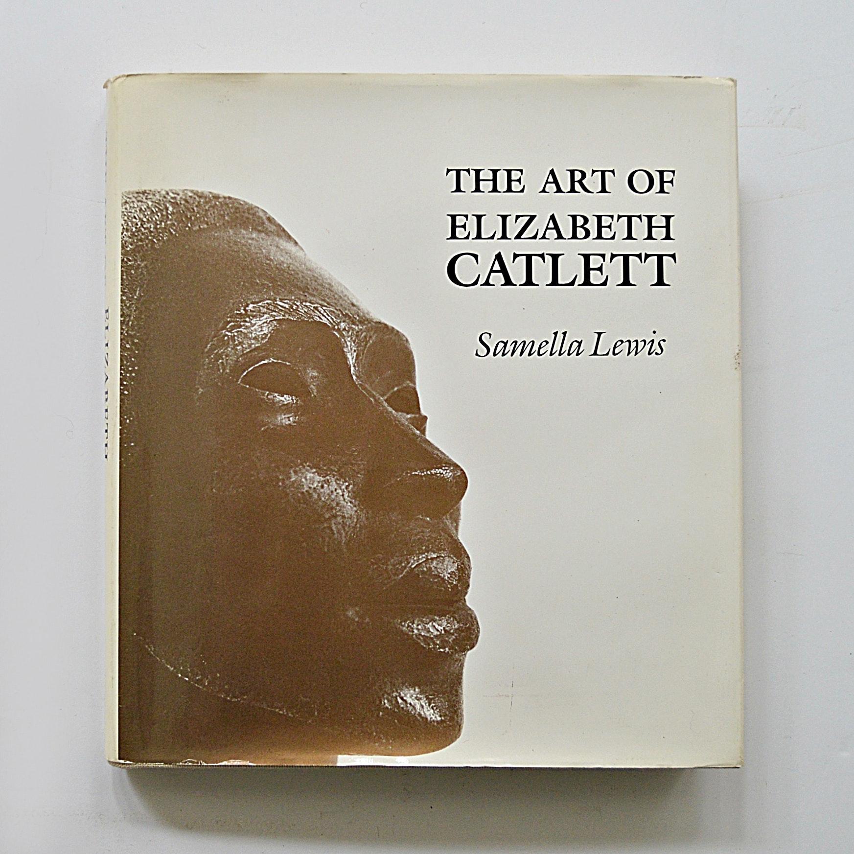 "Artist-Signed Edition of ""The Art of Elizabeth Catlett"" by Samella Lewis"
