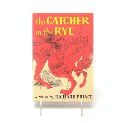 """""""The Catcher in the Rye"""" Book Art by Appropriation Artist Richard Prince"""