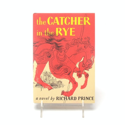 """The Catcher in the Rye"" Book Art by Appropriation Artist Richard Prince"