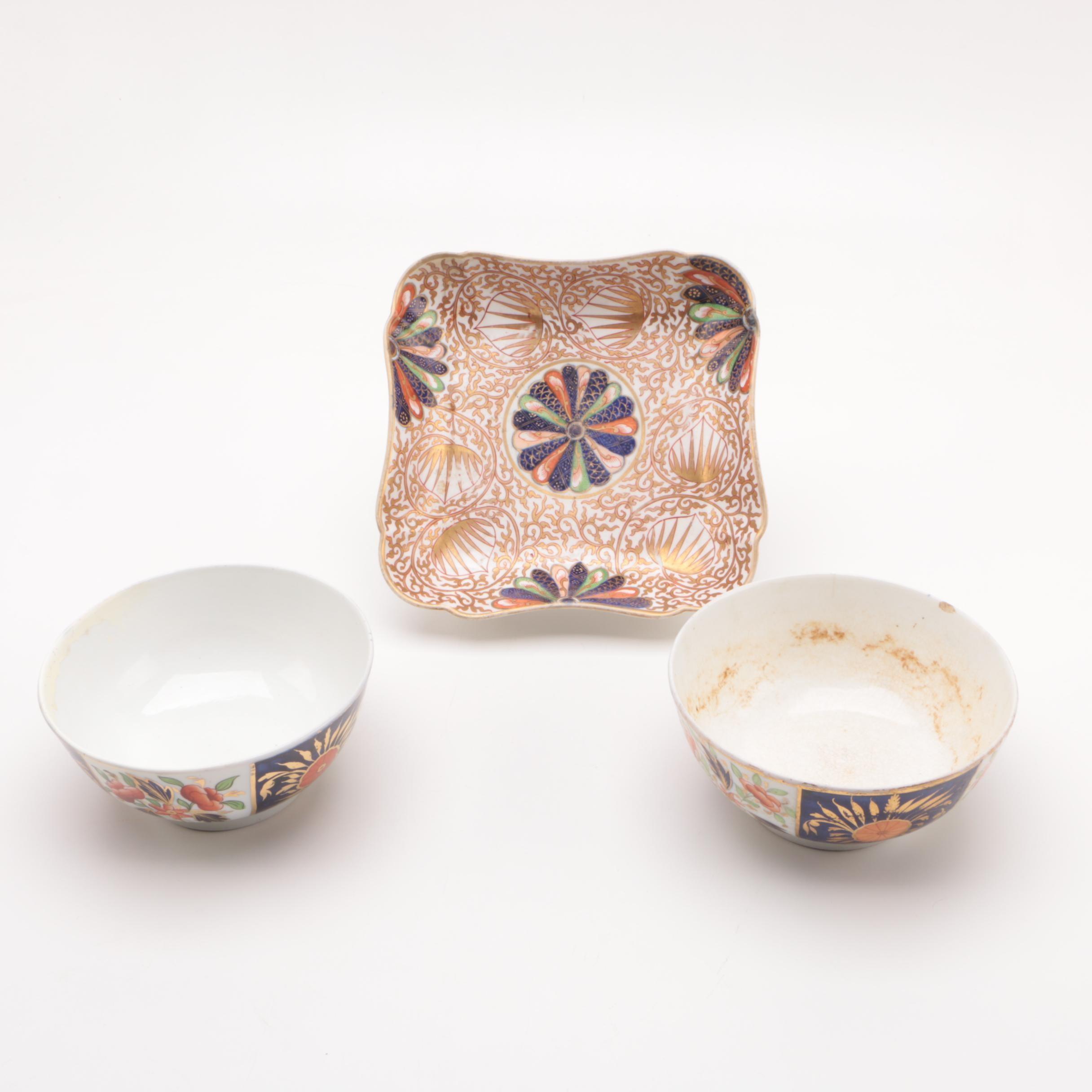 Imari Style Porcelain Tableware