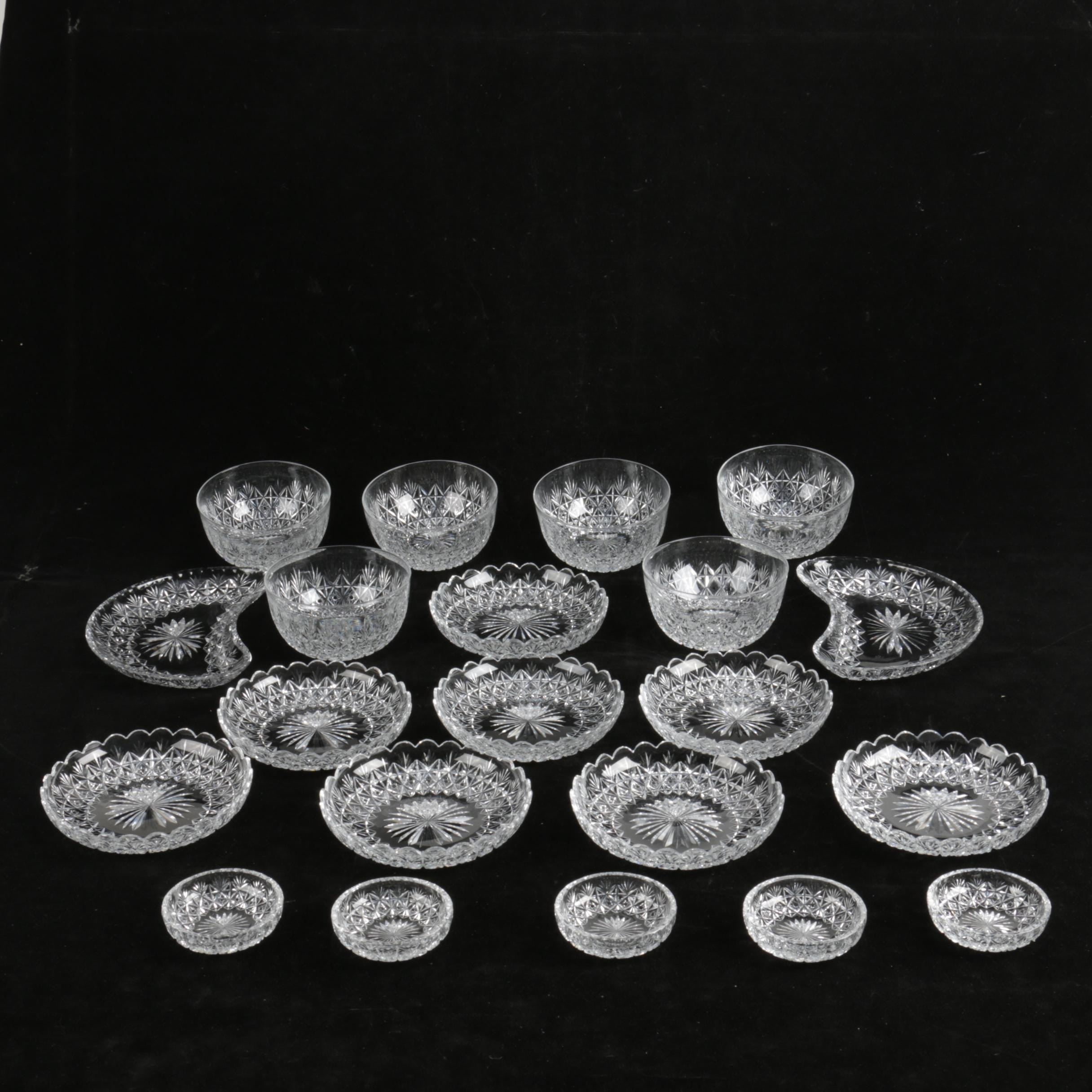 "Thomas Webb ""Wellington"" Crystal Tableware"