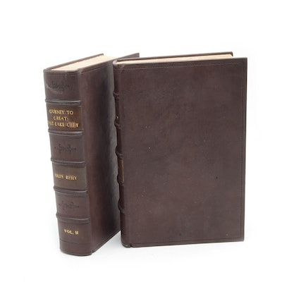 """1861 First Edition """"Journey to Great Salt Lake City"""" in Two Volumes"""