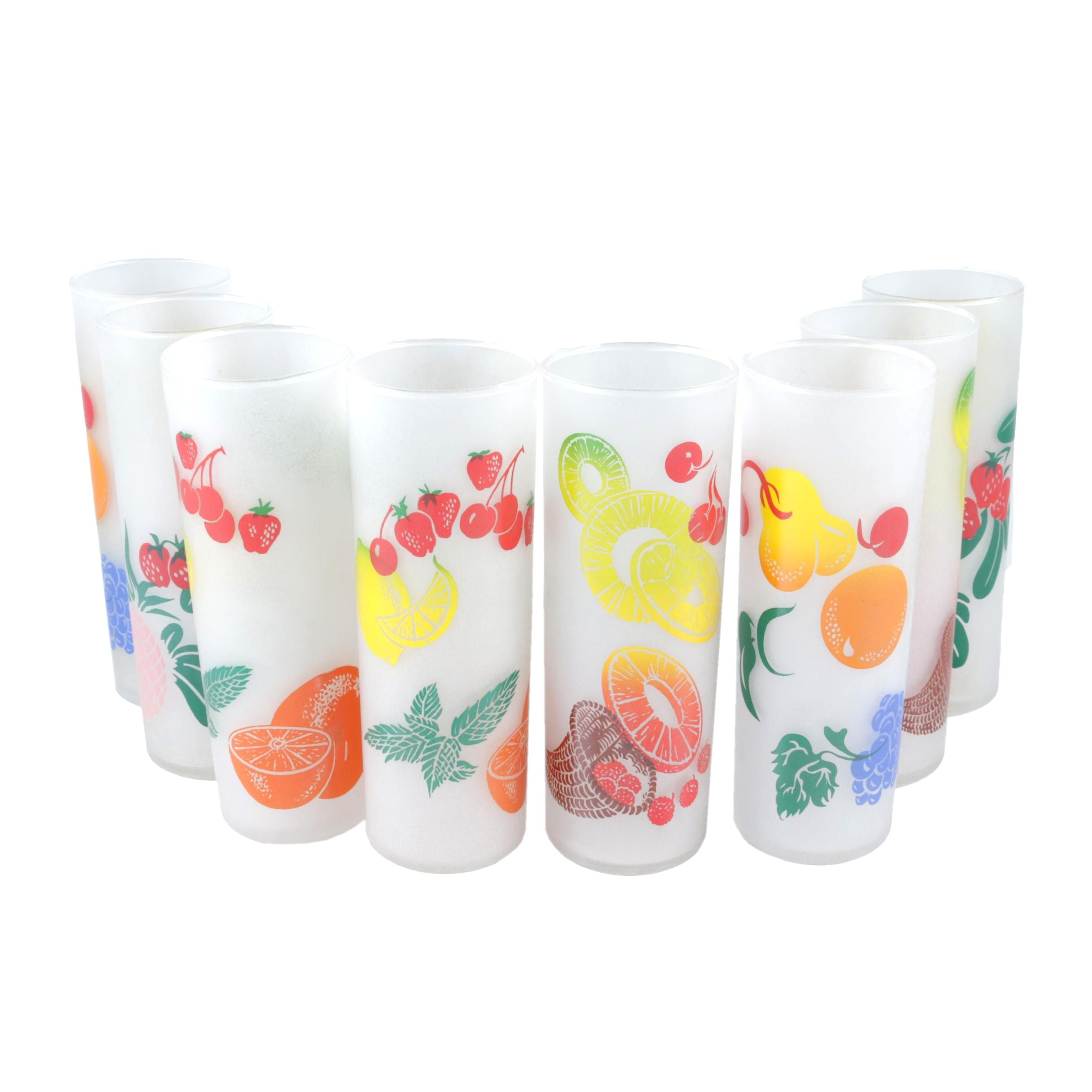 "Federal Glass Co. ""Fruit"" Glassware"