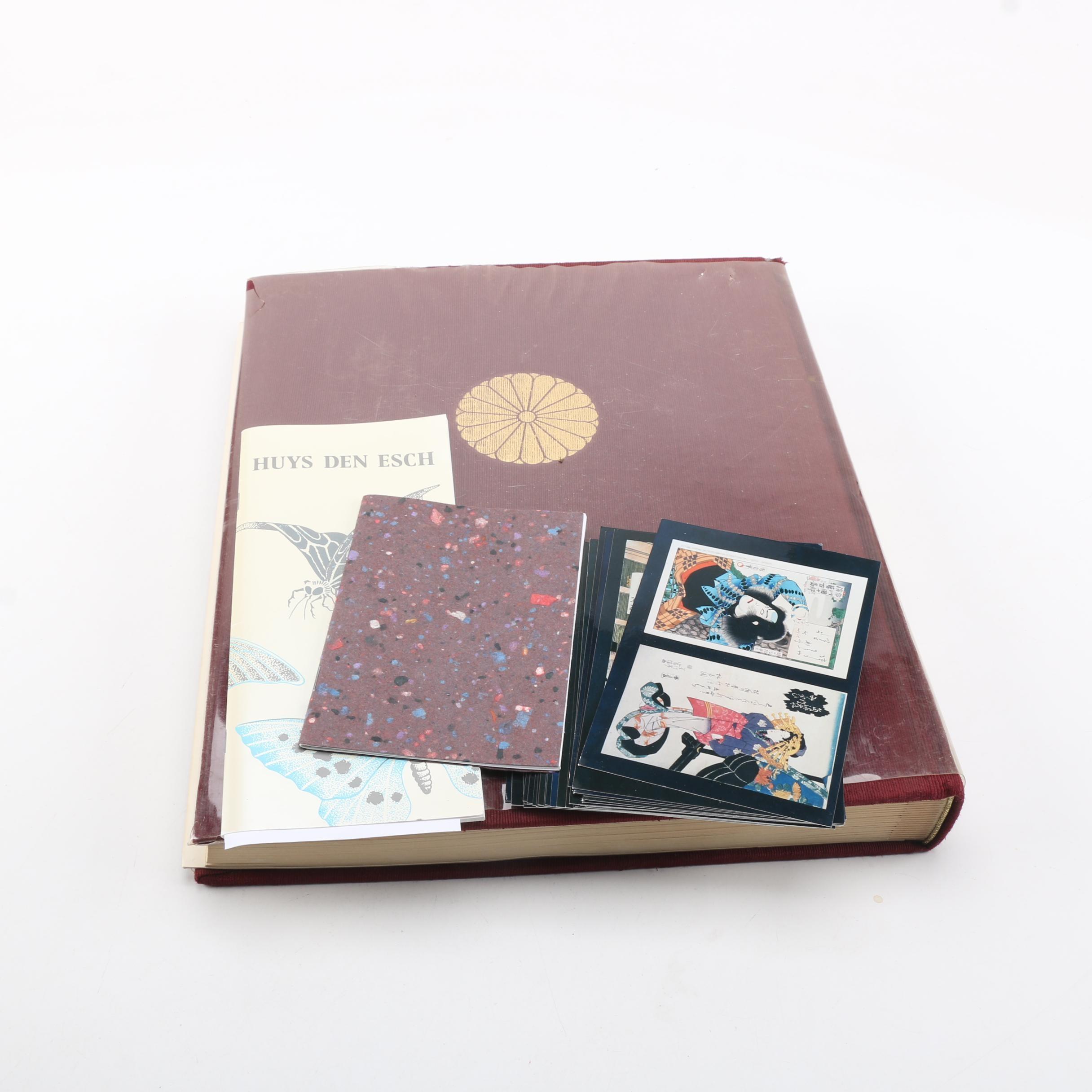 Books of Japanese Art Including 1999 Huys Den Esch Catalogue