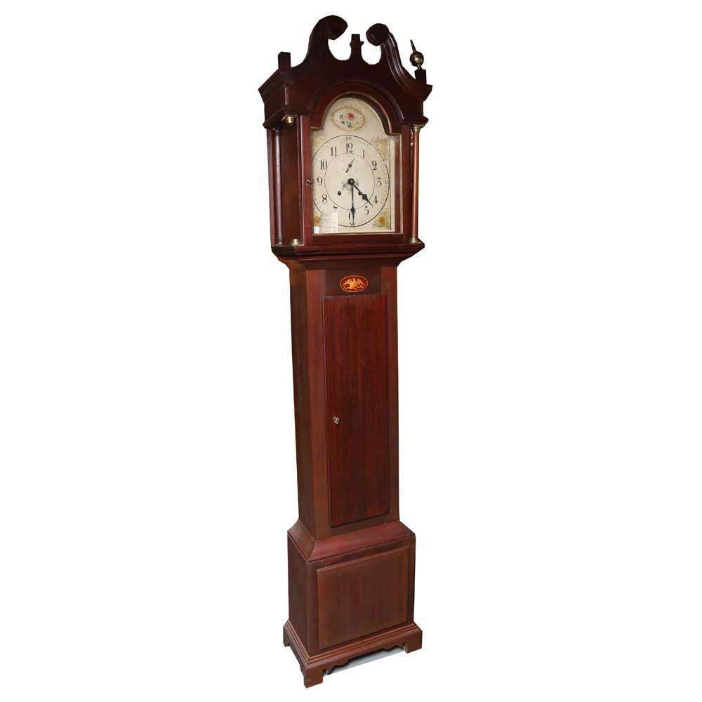 19th Century Handmade Unfinished Grandfather Clock