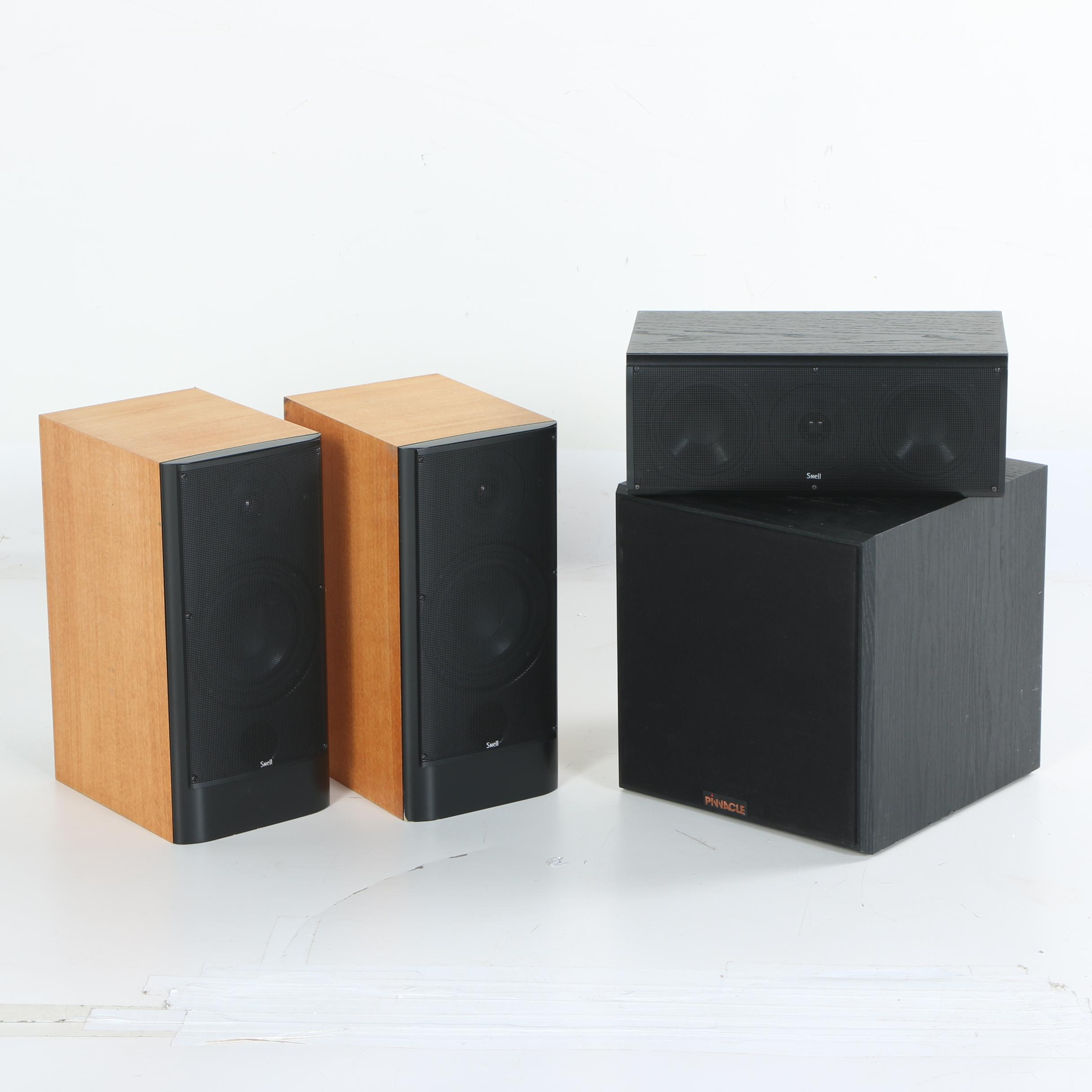 Snell and Pinnacle Speakers