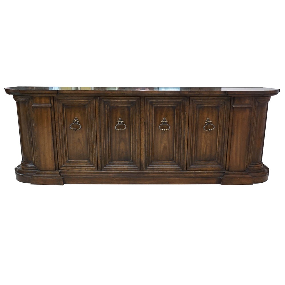"""""""Grand Tour"""" Neoclassical Style Walnut Buffet from Drexel-Heritage"""