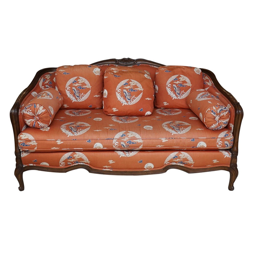 Louis XV Style Settee by Drexel Heritage Furnishings