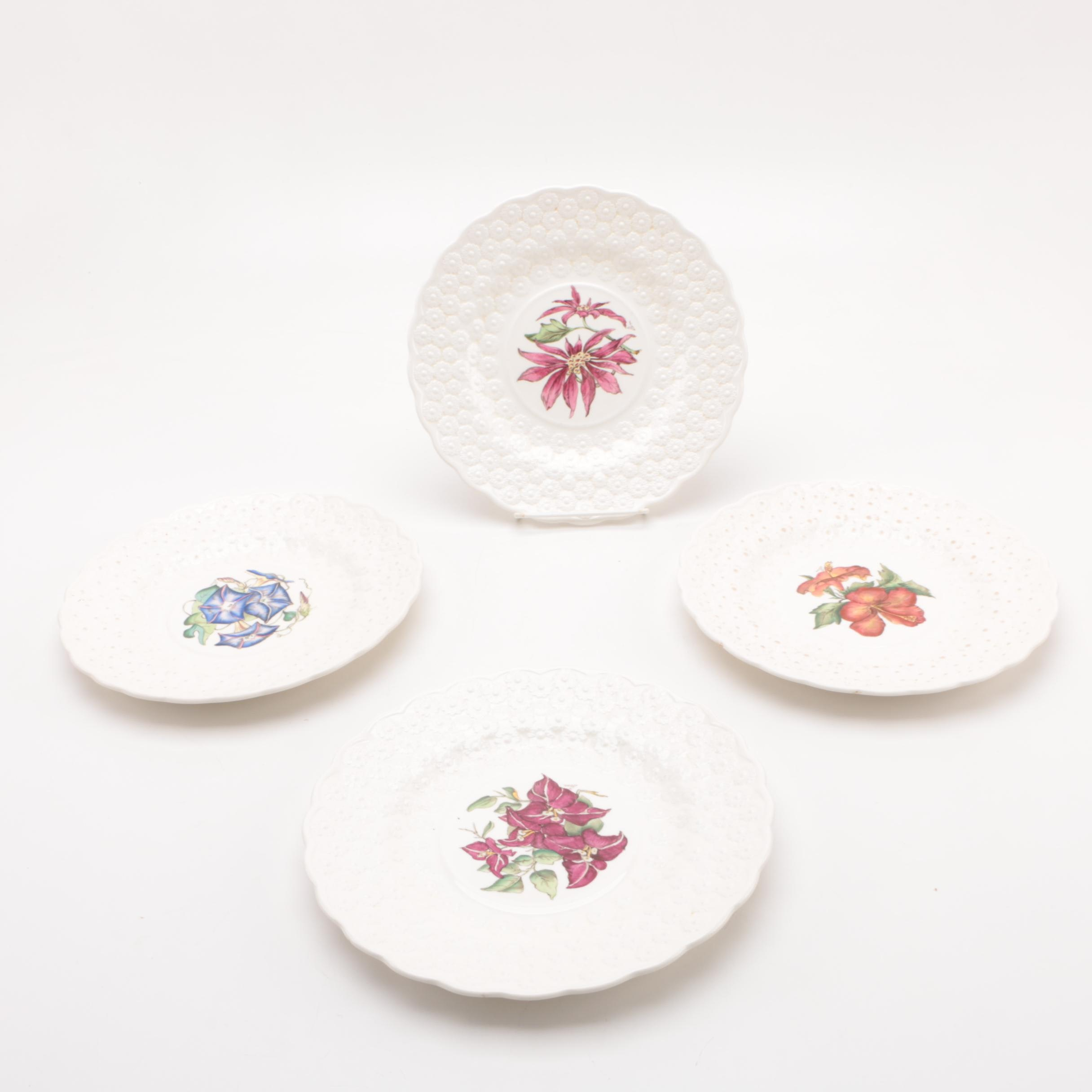 "Spode ""Bermuda Flowers"" Luncheon Plate Set"