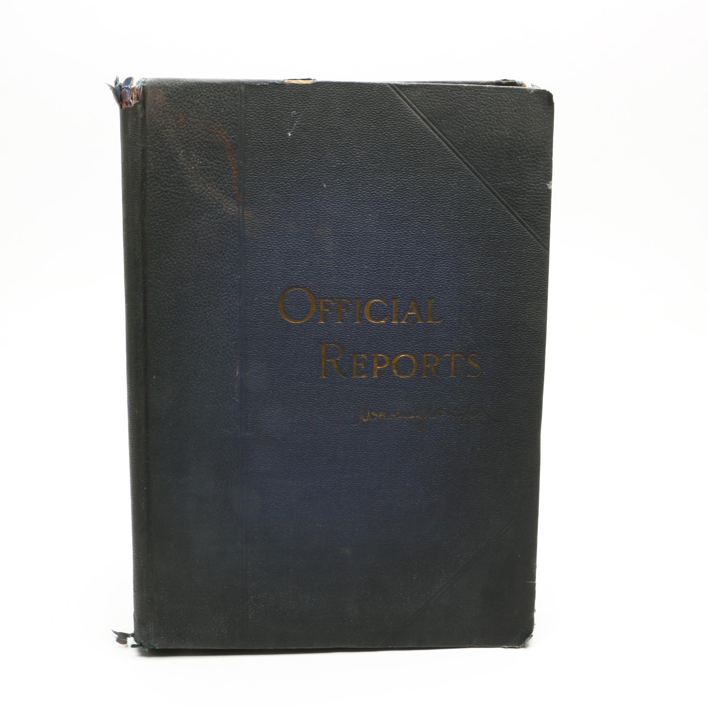 "1900 ""Wright's Official History of the Spanish-American War"""