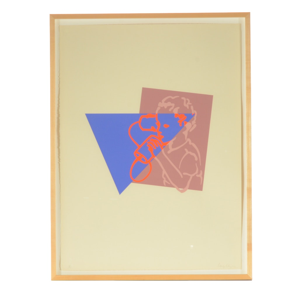 Nancy Dwyer Limited Edition Serigraph on Paper