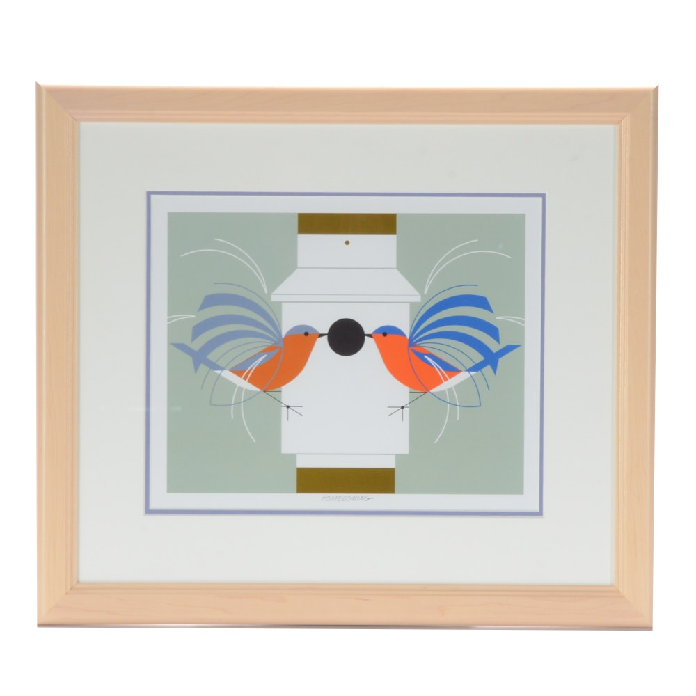 Open Edition Lithograph, Homecoming