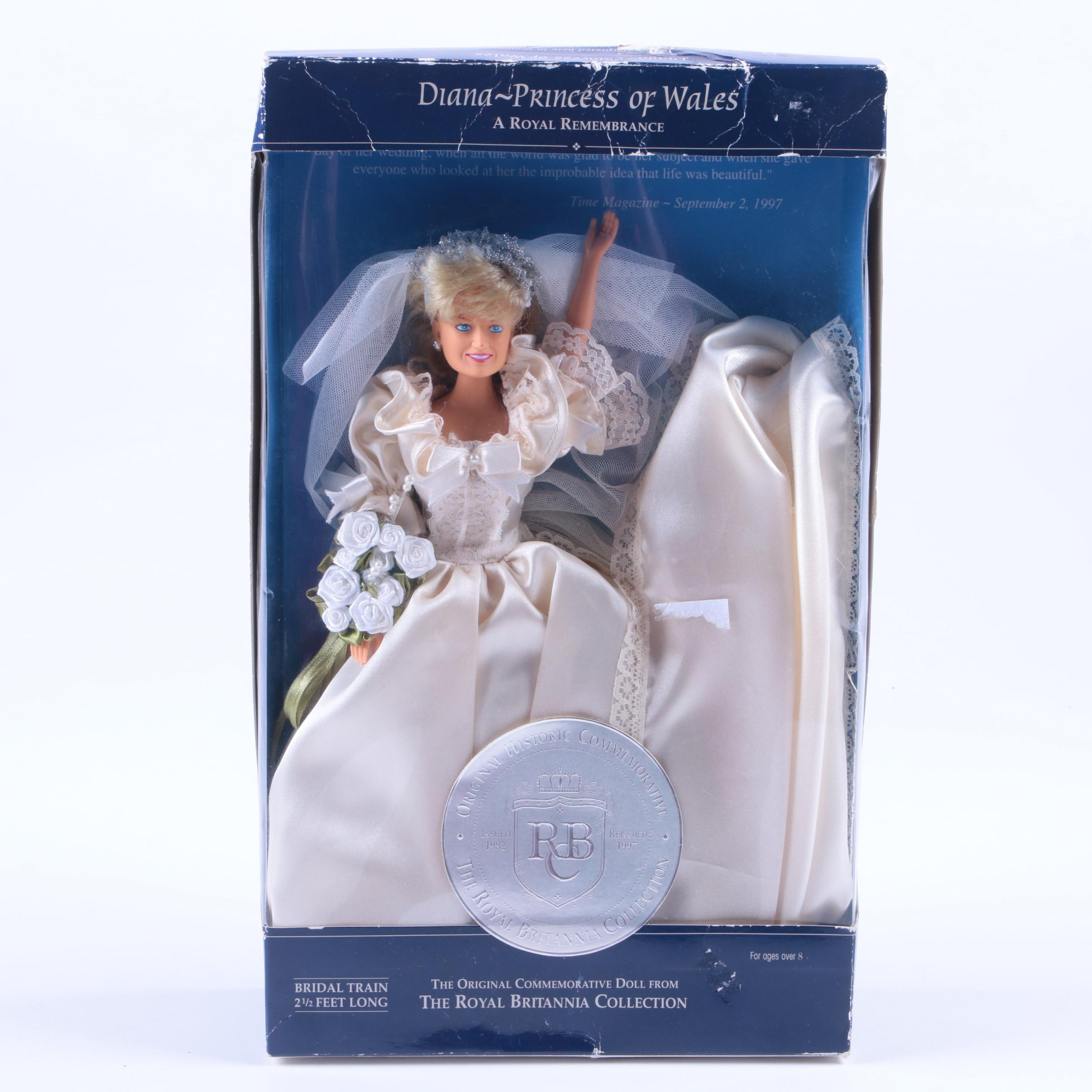 Diana, Princess of Wales Royal Remembrance Doll