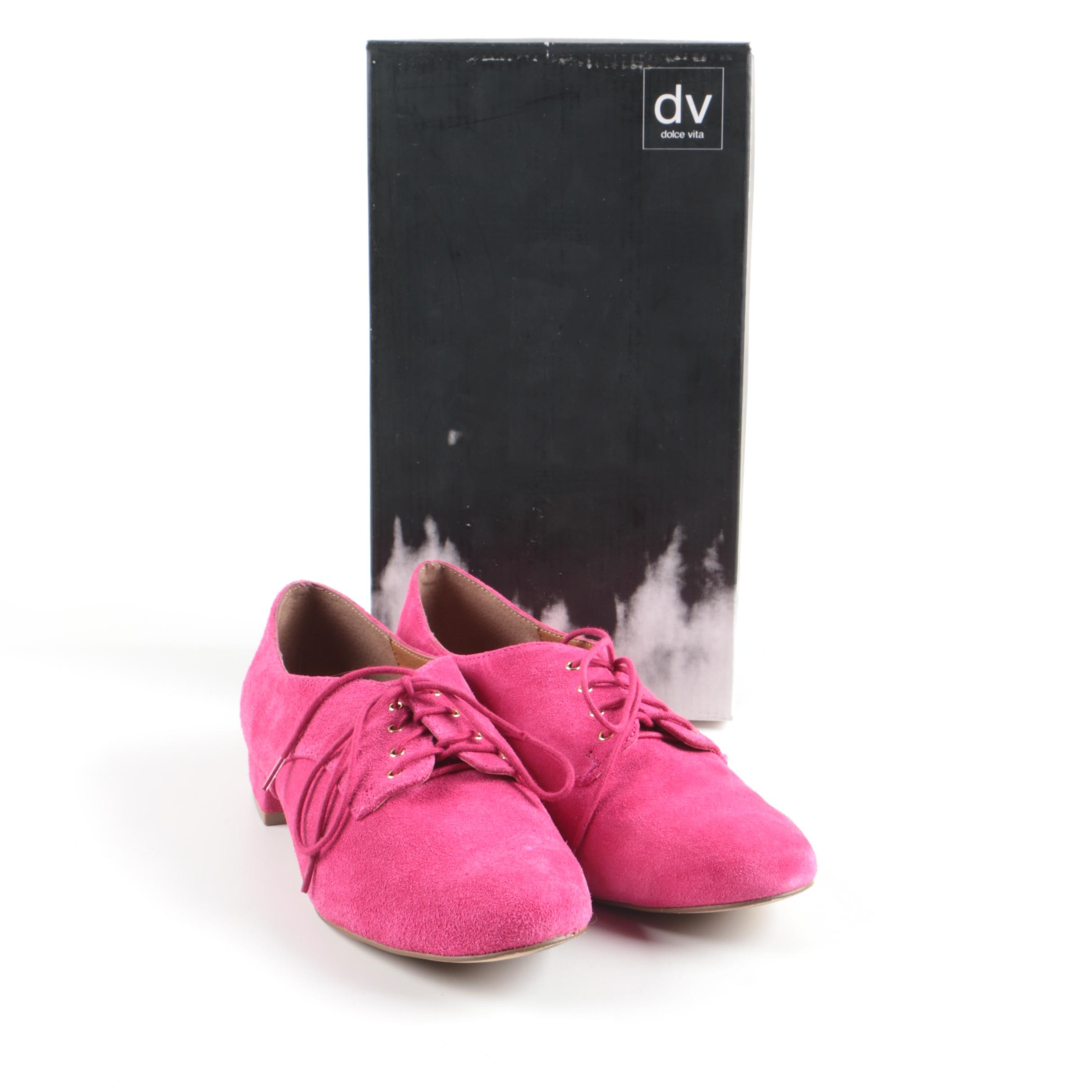 Dolce Vita Suede Lace-Up Shoes