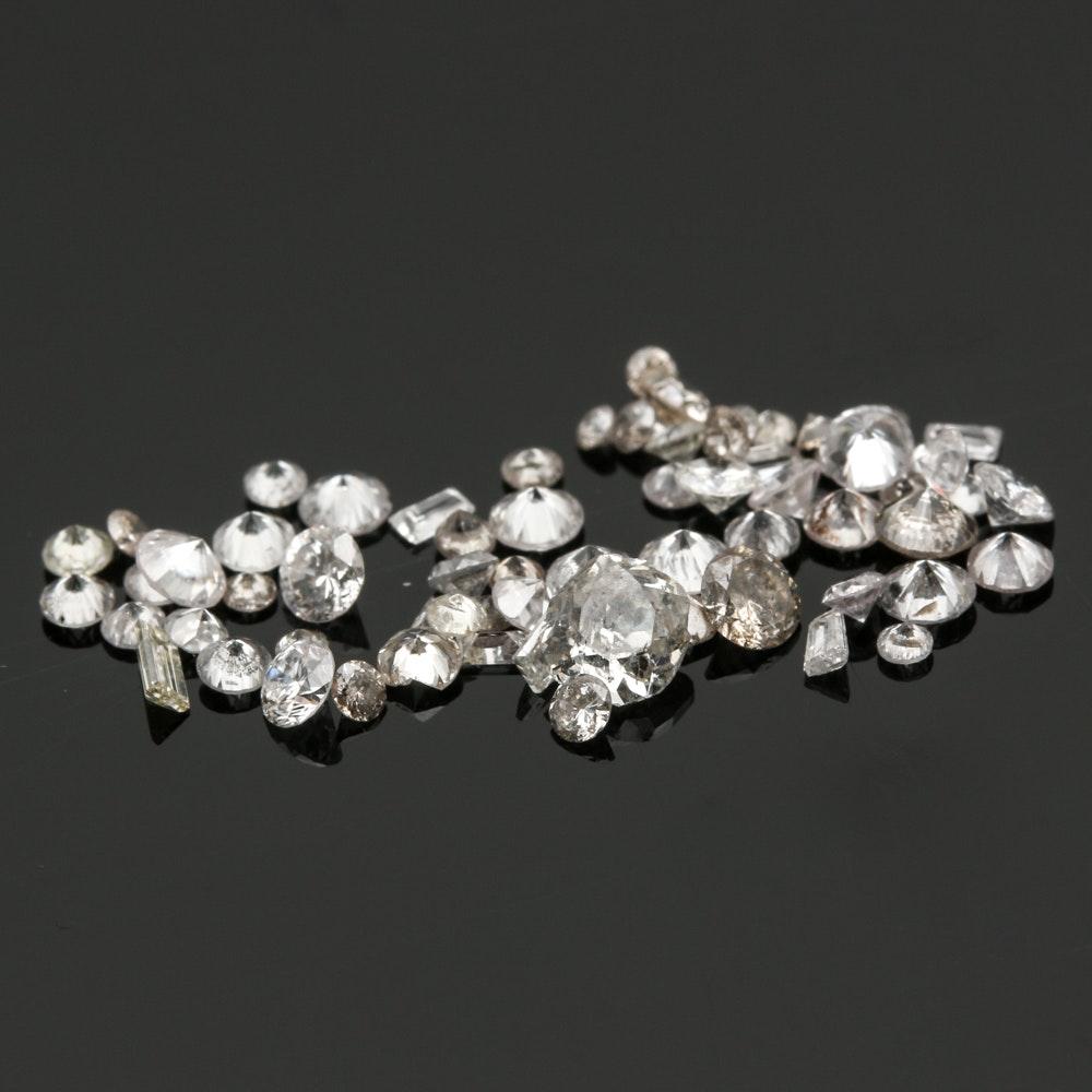 Assorted Loose 1.93 CTW Diamonds