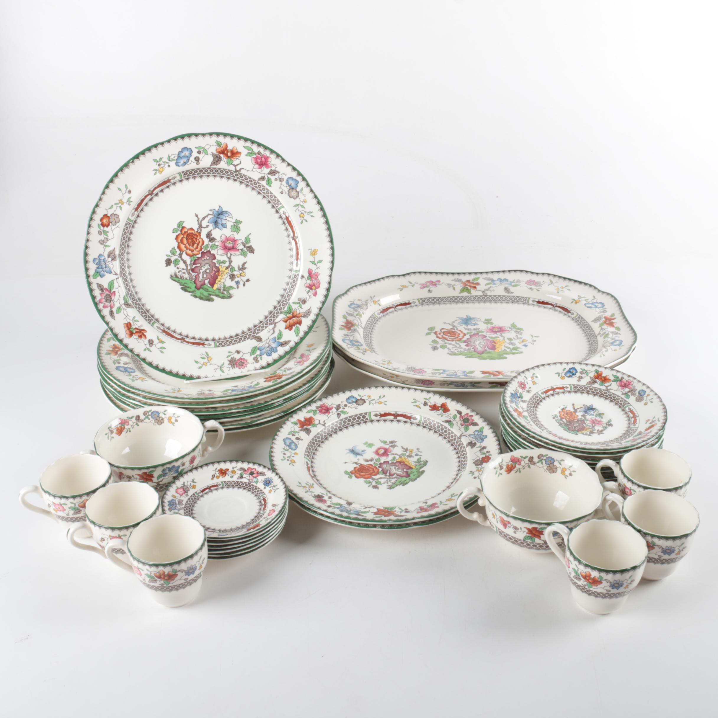 "Spode ""Chinese Rose"" Imperial Ware Tableware"