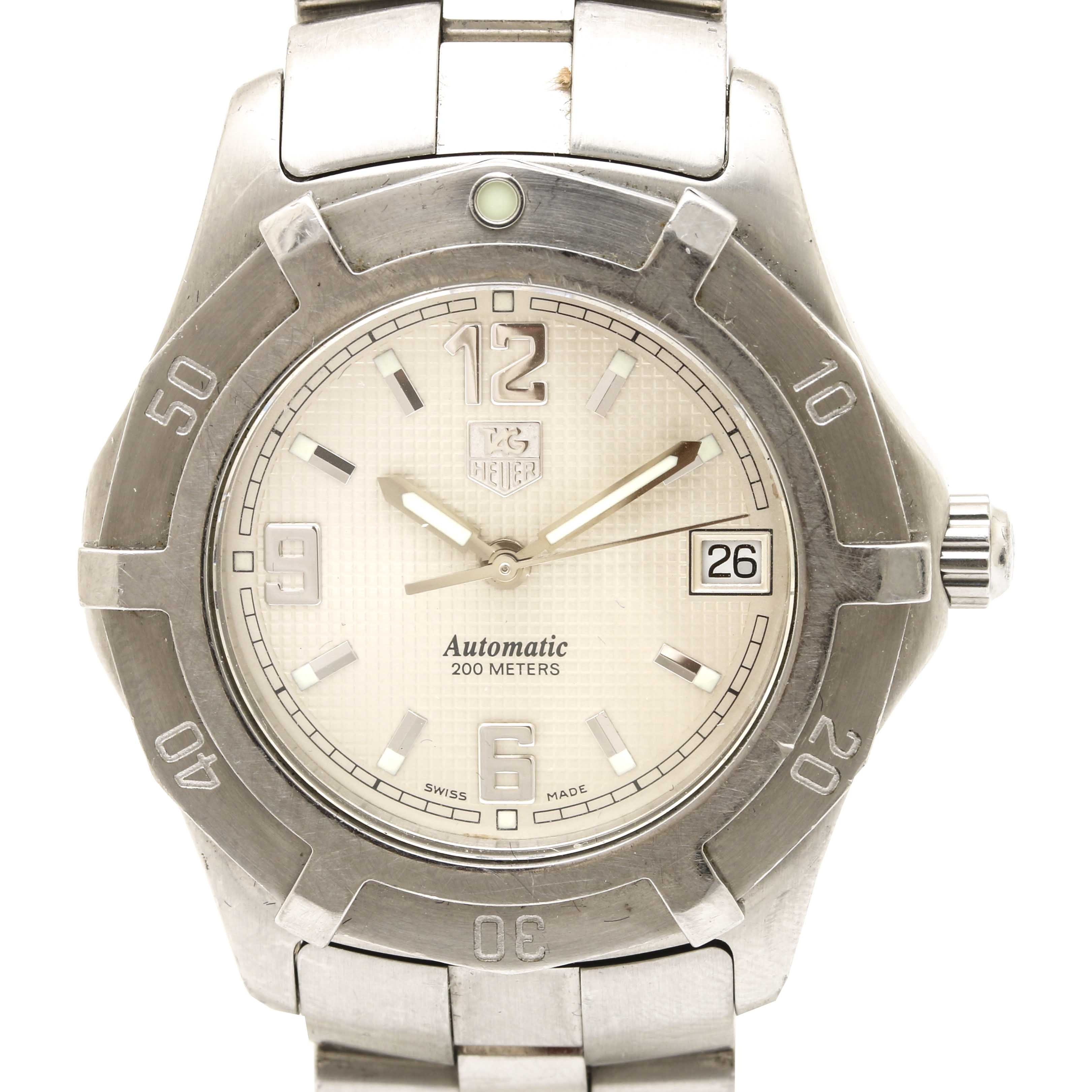 TAG Heuer Stainless Steel Automatic Wristwatch