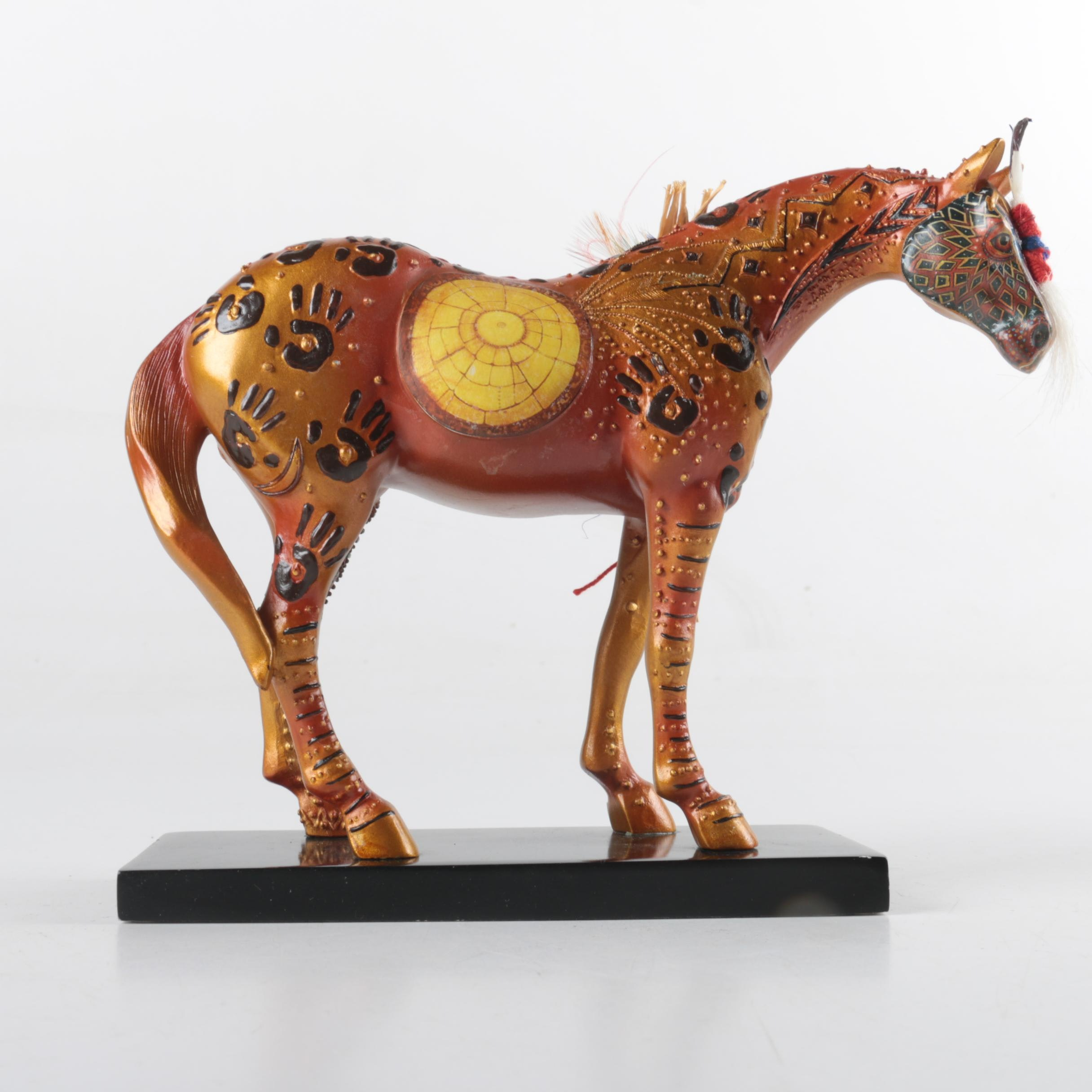 """Trail of Painted Ponies"" Horse Figurine"