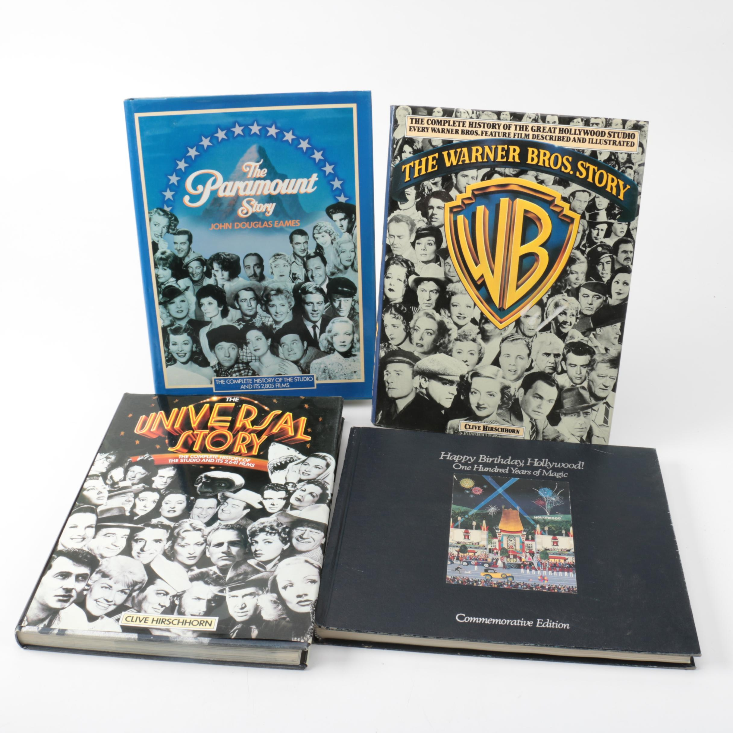 """Movie Industry Books Including """"The Paramount Story"""""""