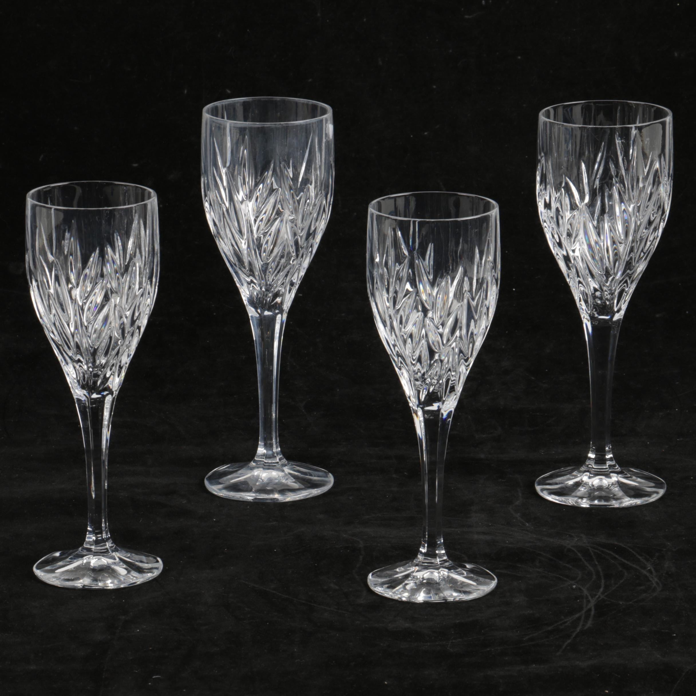 Crystal Goblets and Wine Glasses