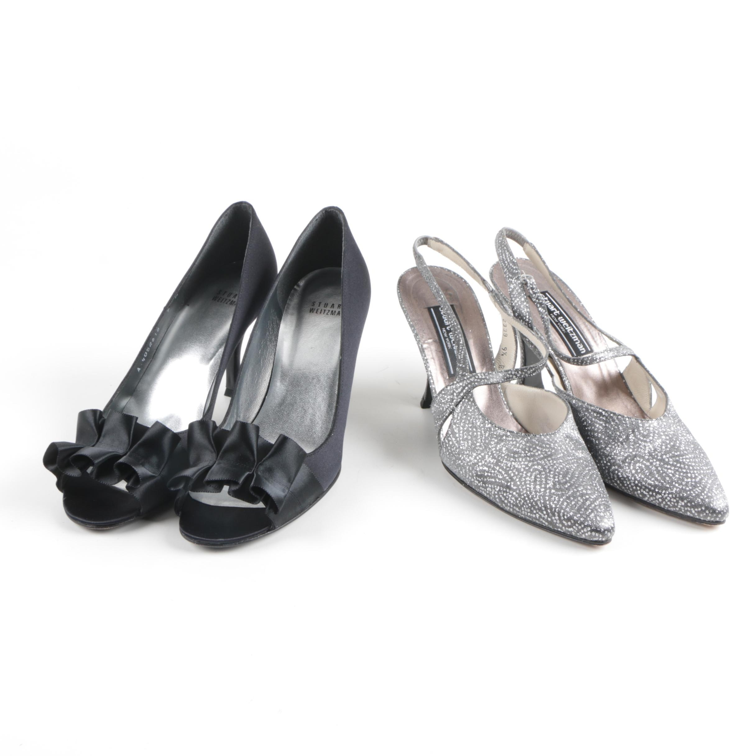 Stuart Weitzman Peep Toes and Slingbacks
