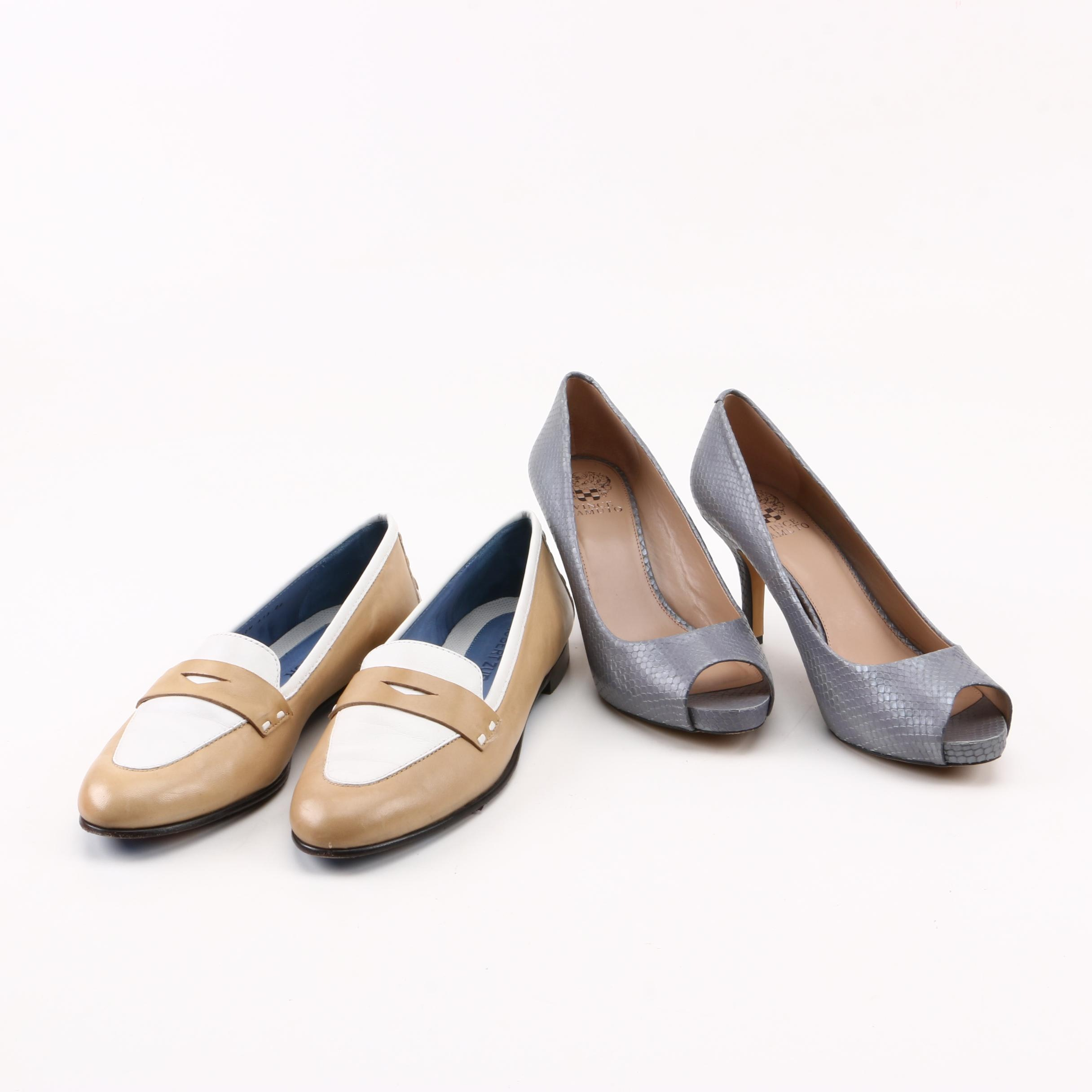 """Vince Camuto """"Kira"""" Pumps and Robert Zur """"Keira"""" Loafers"""