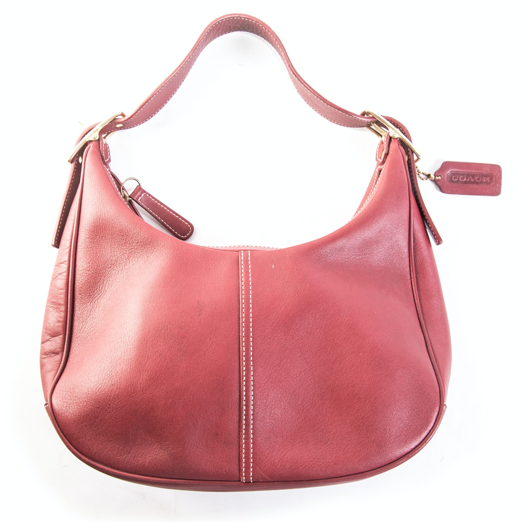 Coach Red Leather Ergomatic Handbag