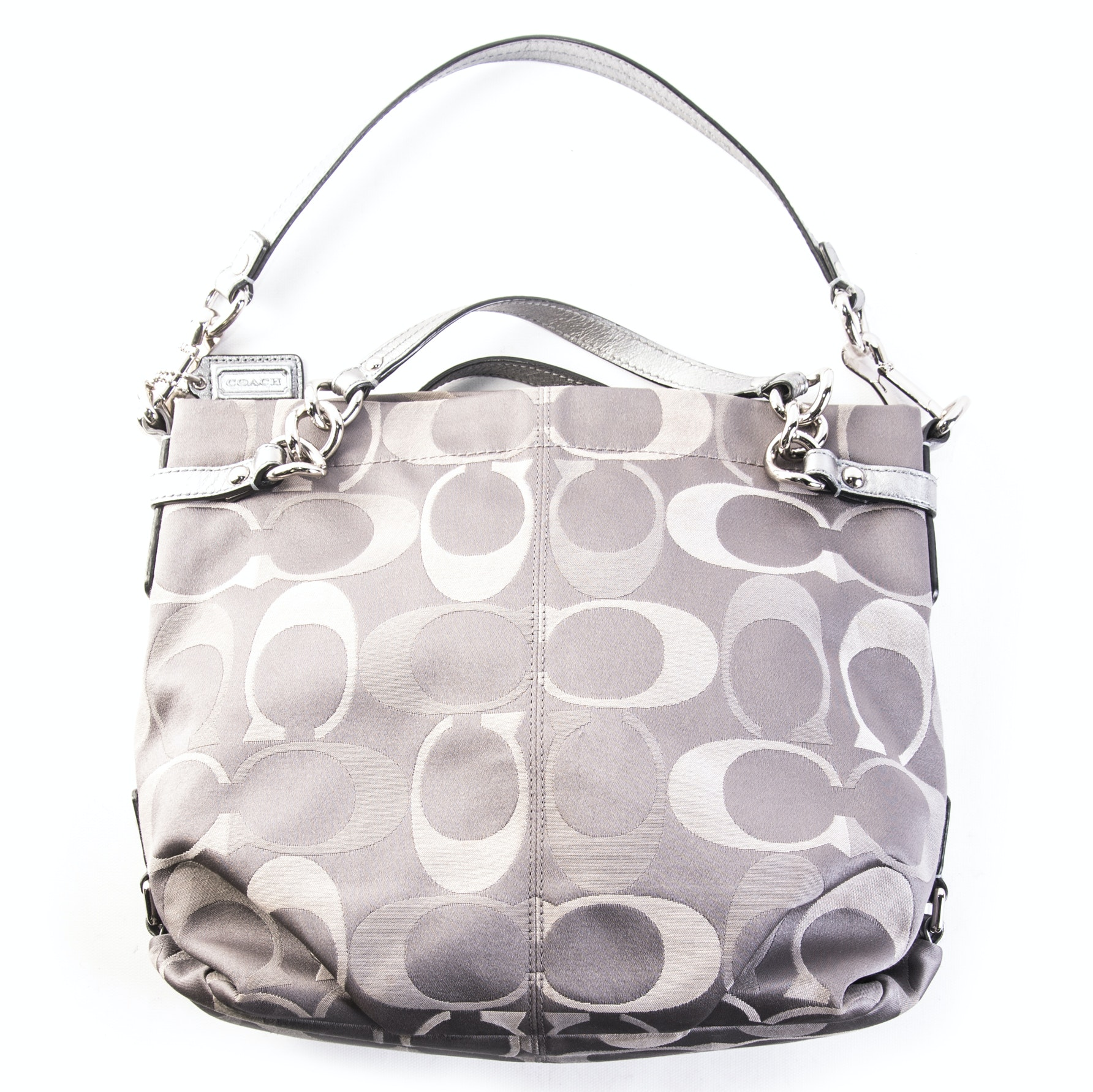 "Coach Signature ""C"" Brooke Sateen Handbag"